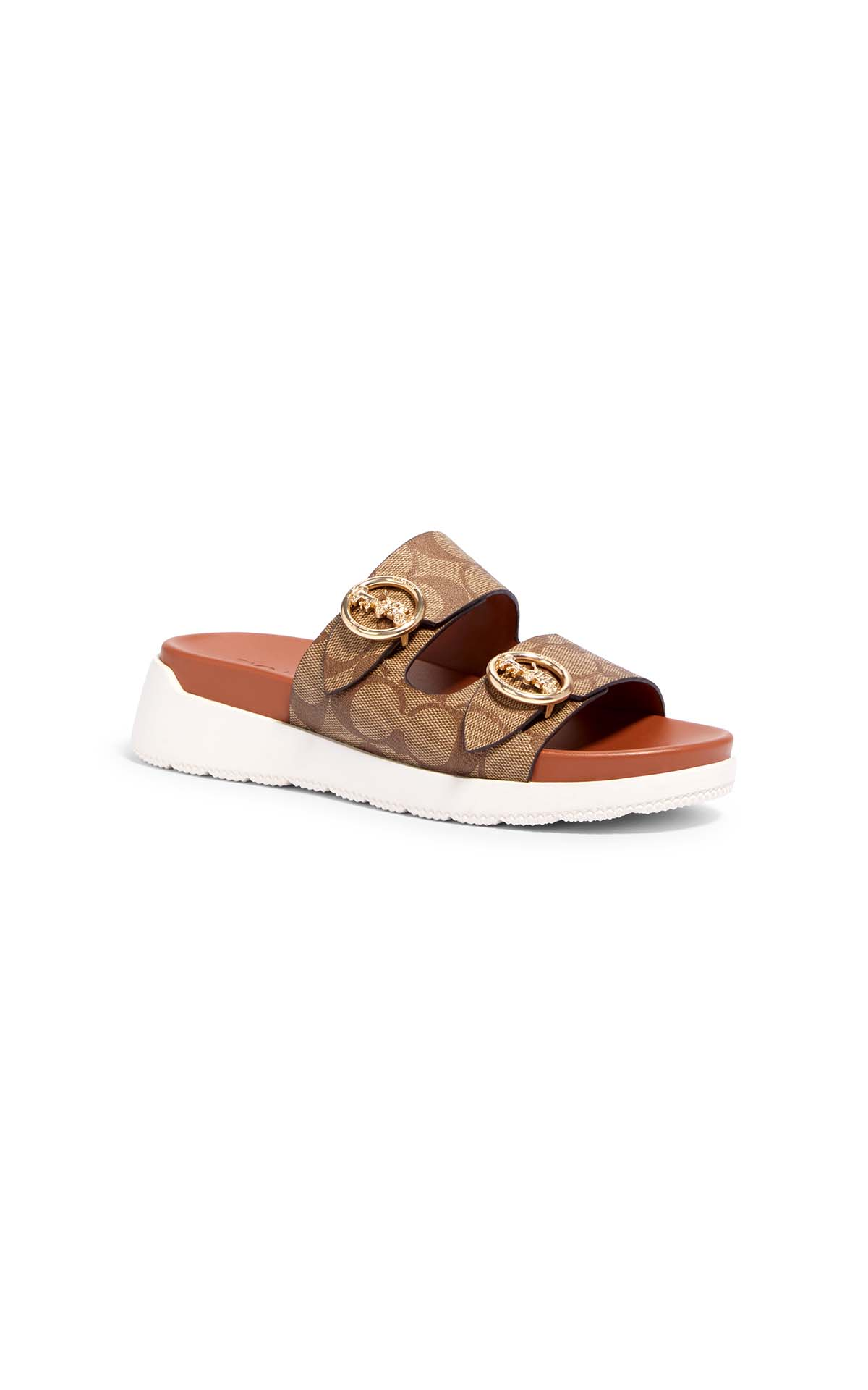 Coach Gable signature sandal at The Bicester VIllage Shopping Collection