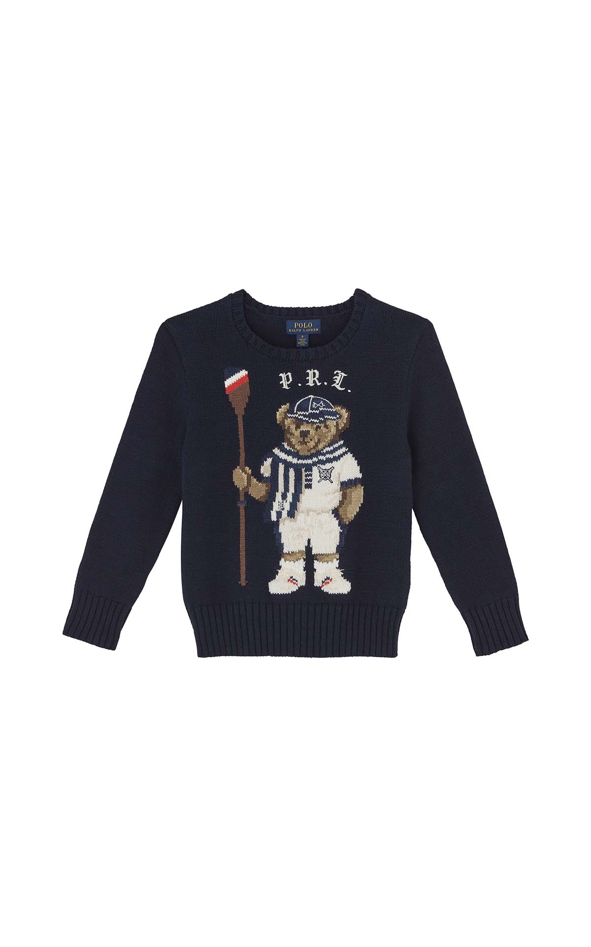 Polo Ralph Lauren Children Paddle bear sweater at The Bicester Village Shopping Collection
