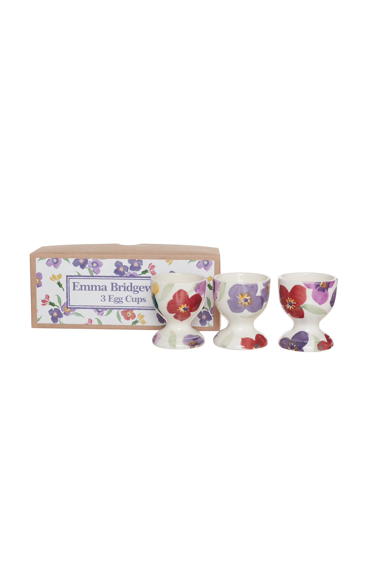 Emma Bridgewater Wallflower set of three egg cups from Bicester Village