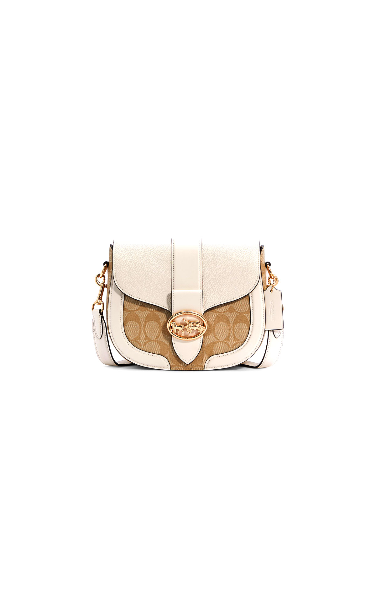 Coach Georgie Saddle Bag at The Bicester Village Shopping Collection