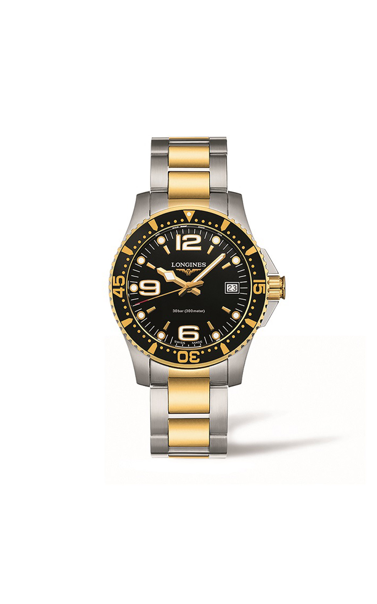 Watch Longines HydroConquest quartz 34mm Hour Passion