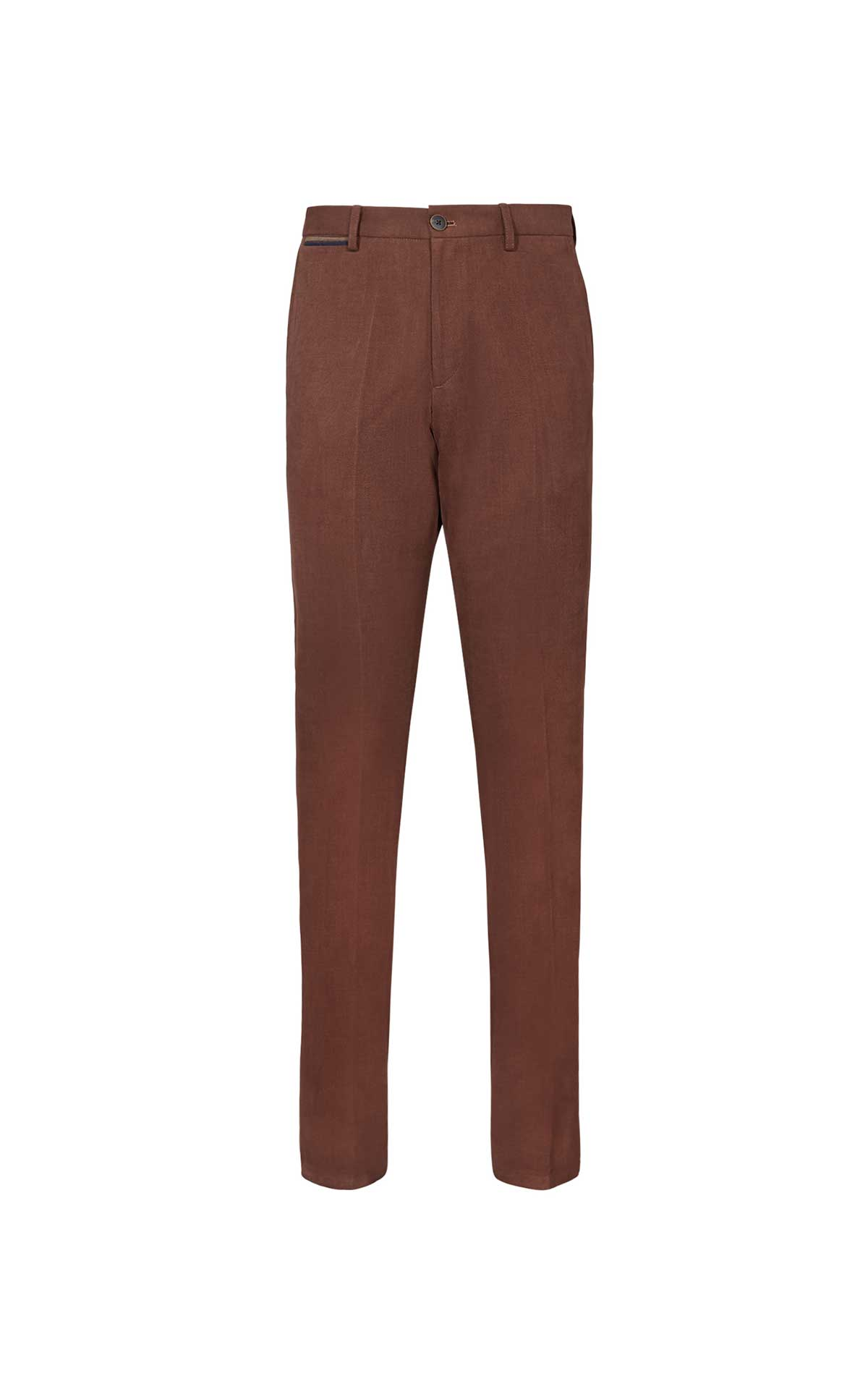 Brown trousers for men from El Ganso