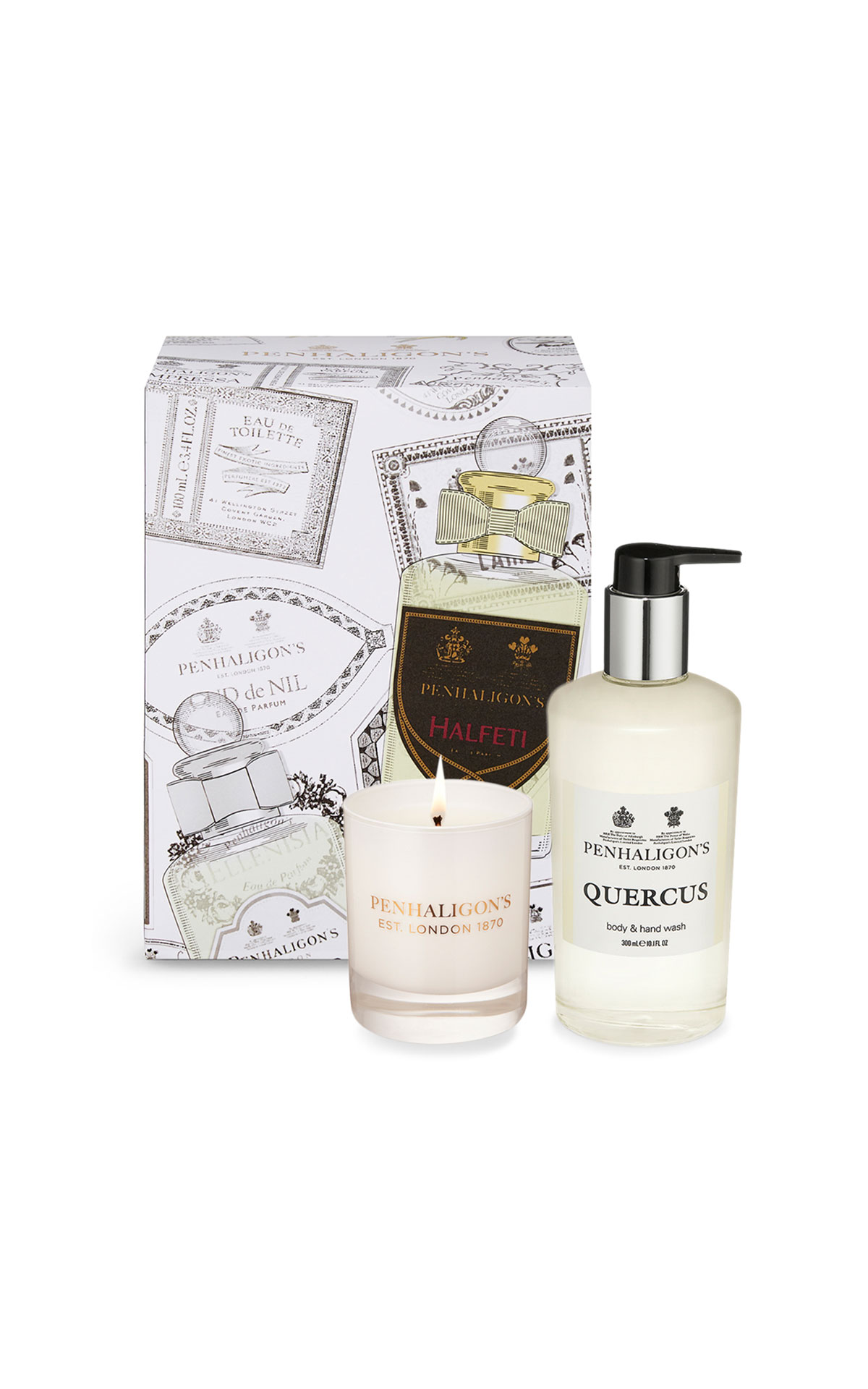 Penhaligon's Quercus 100ml unboxed and Quercus body & hand wash from Bicester Village