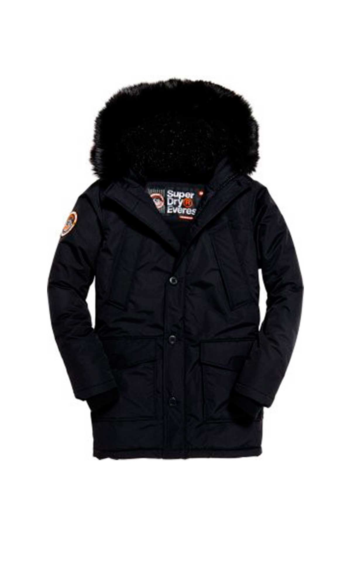 Black coat Superdry