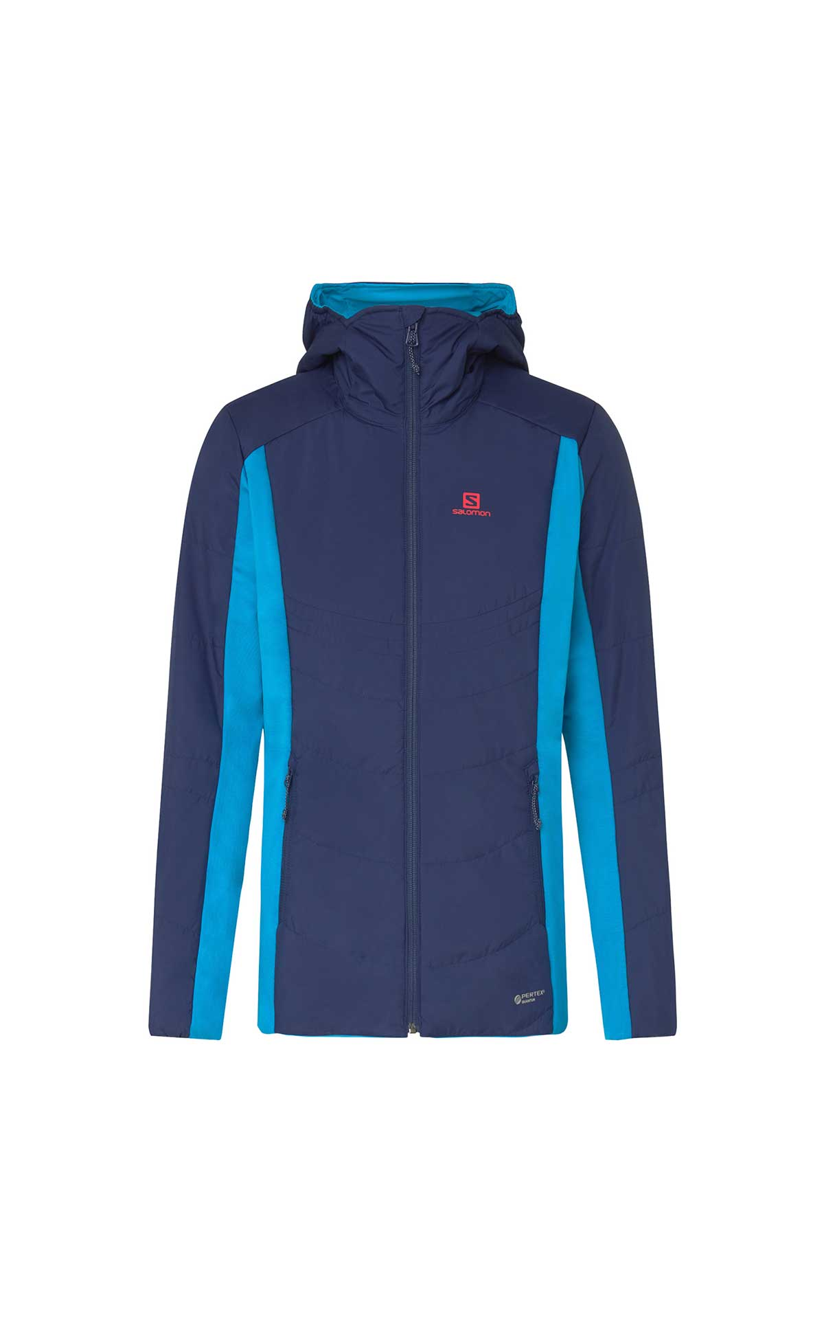 Reversible blue woman jacket Salomon