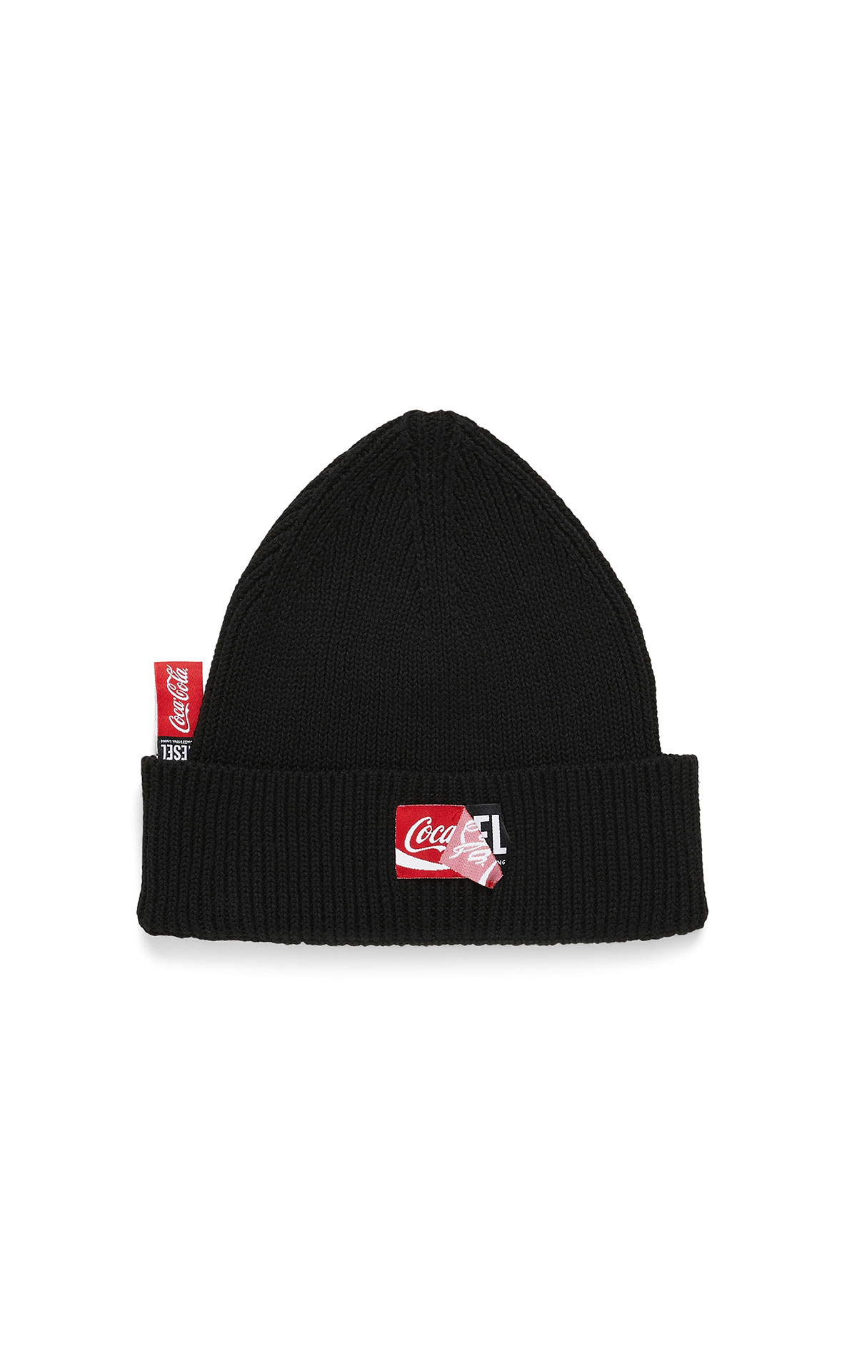 Diesel x coca cola beanie at The Bicester Village Shopping Collection