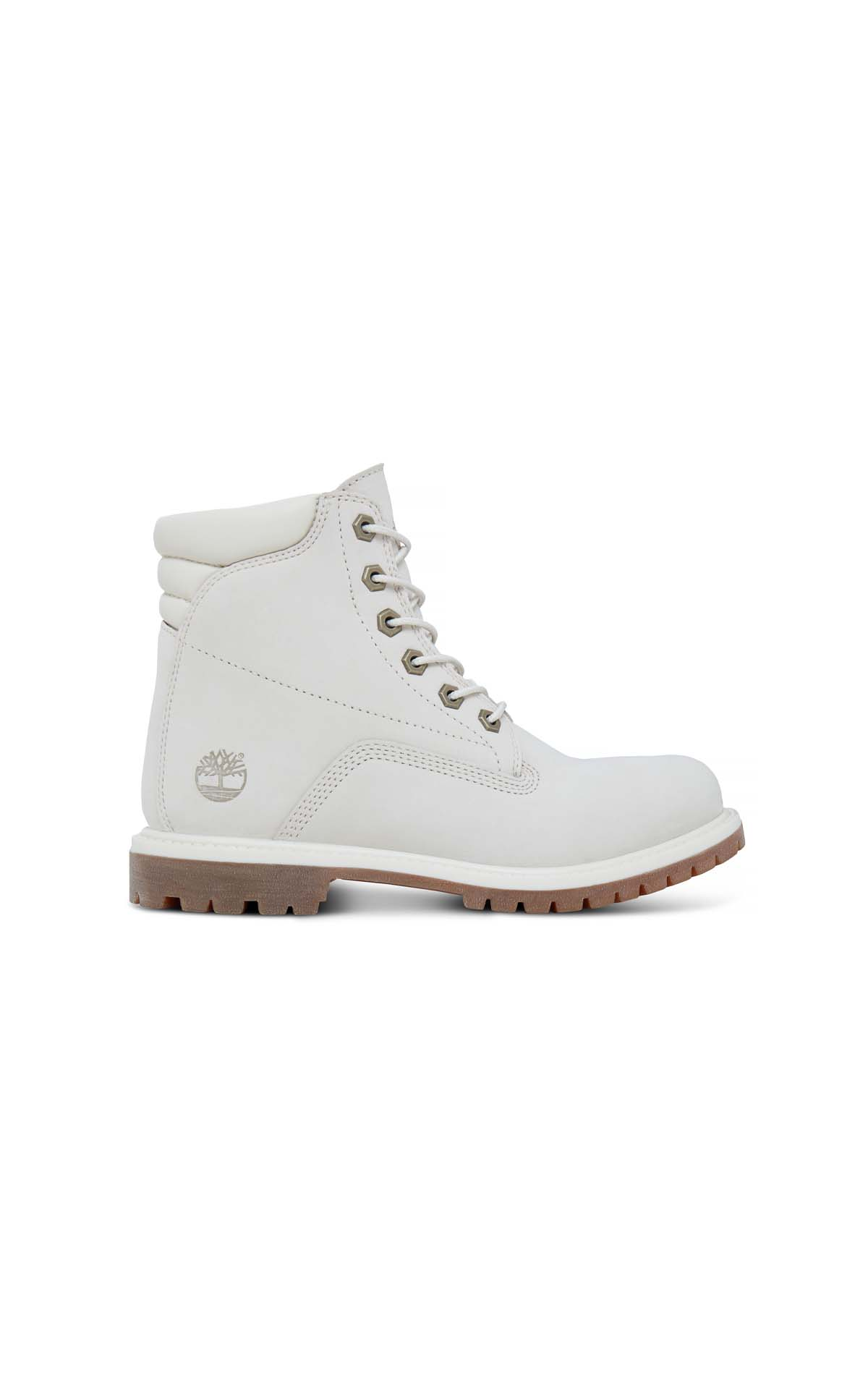 Timberland Women's White Waterville 6in Basic WP