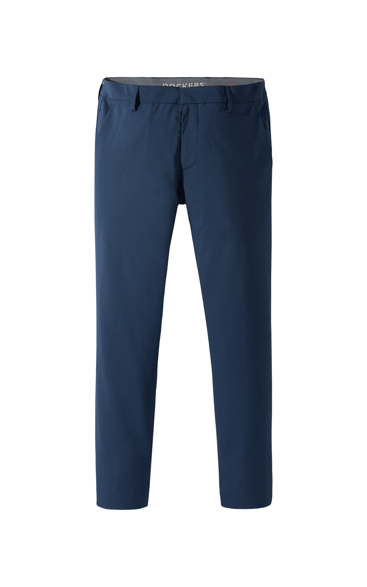 Long navy blue chino pants for man Dockers