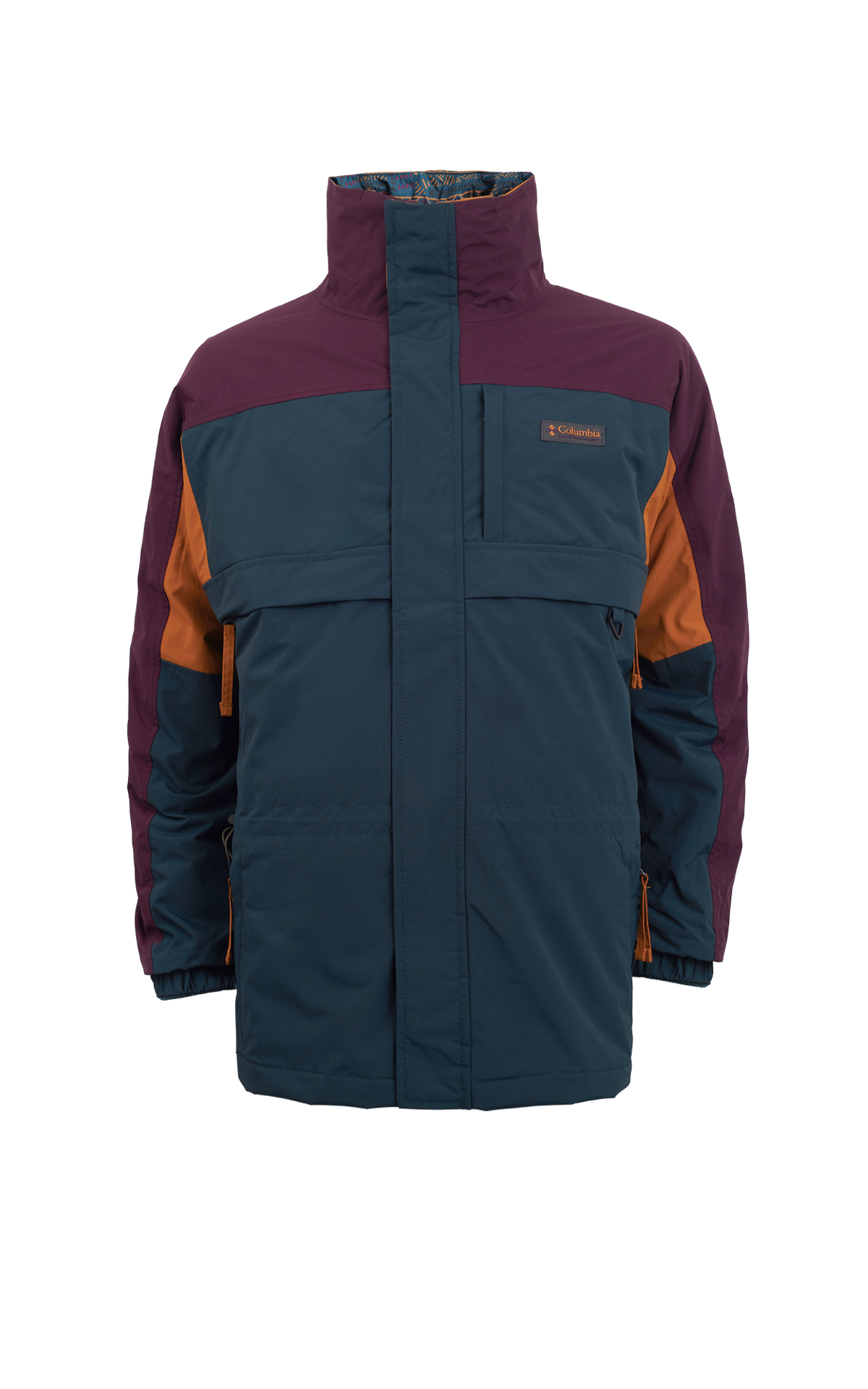 Tricolor jacket Columbia