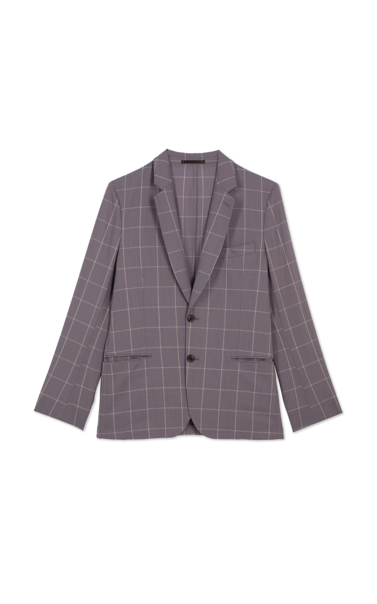 Paul smith Purple plaid jacket