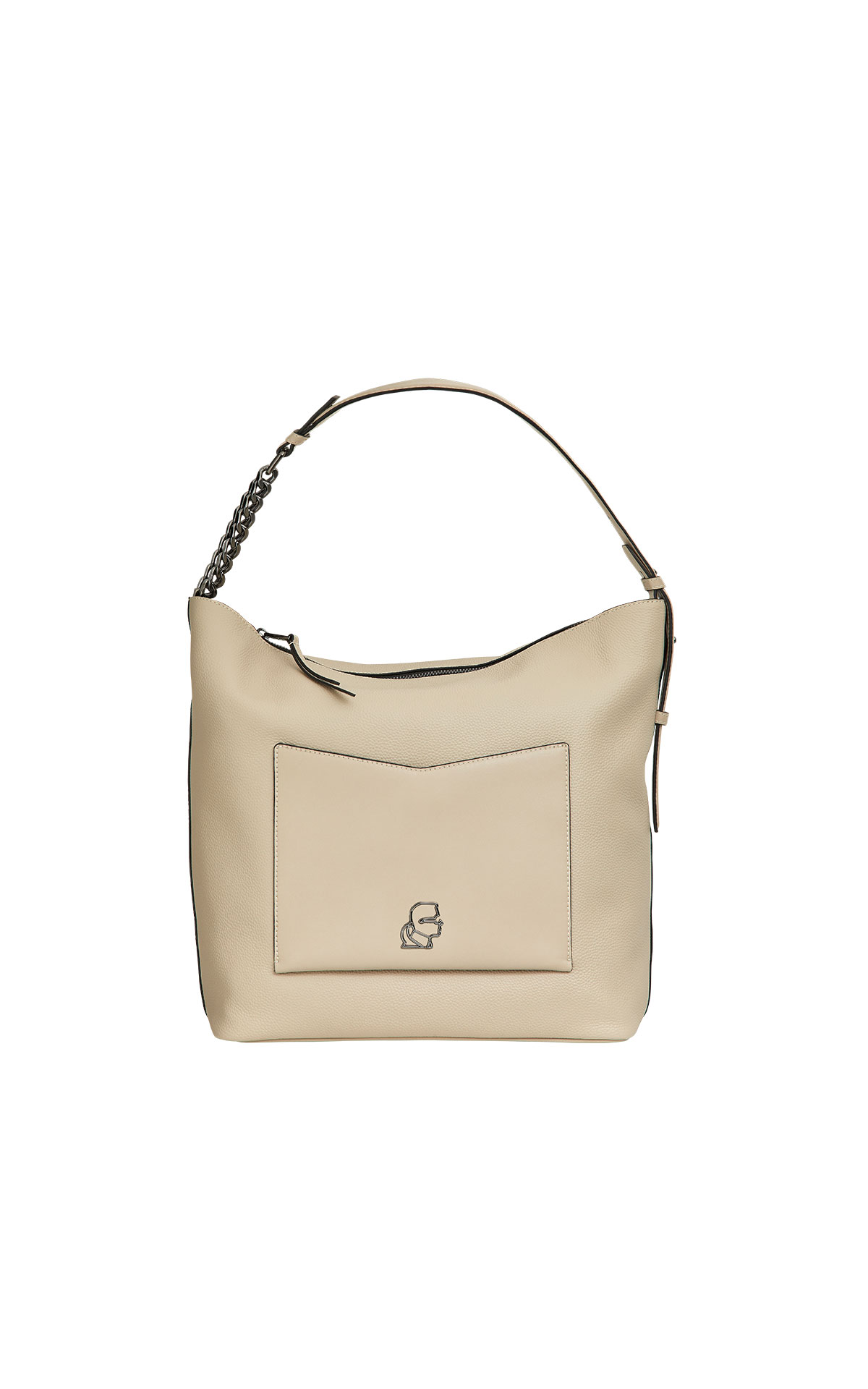 Karl Lagerfeld k/pebble hobo at The Bicester Village Shopping Collection
