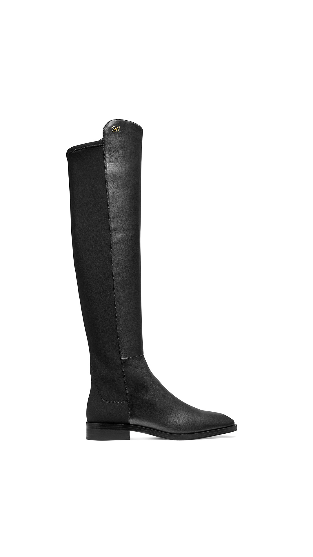 Stuart Weitzman keelan black at The Bicester Village Shopping Collection