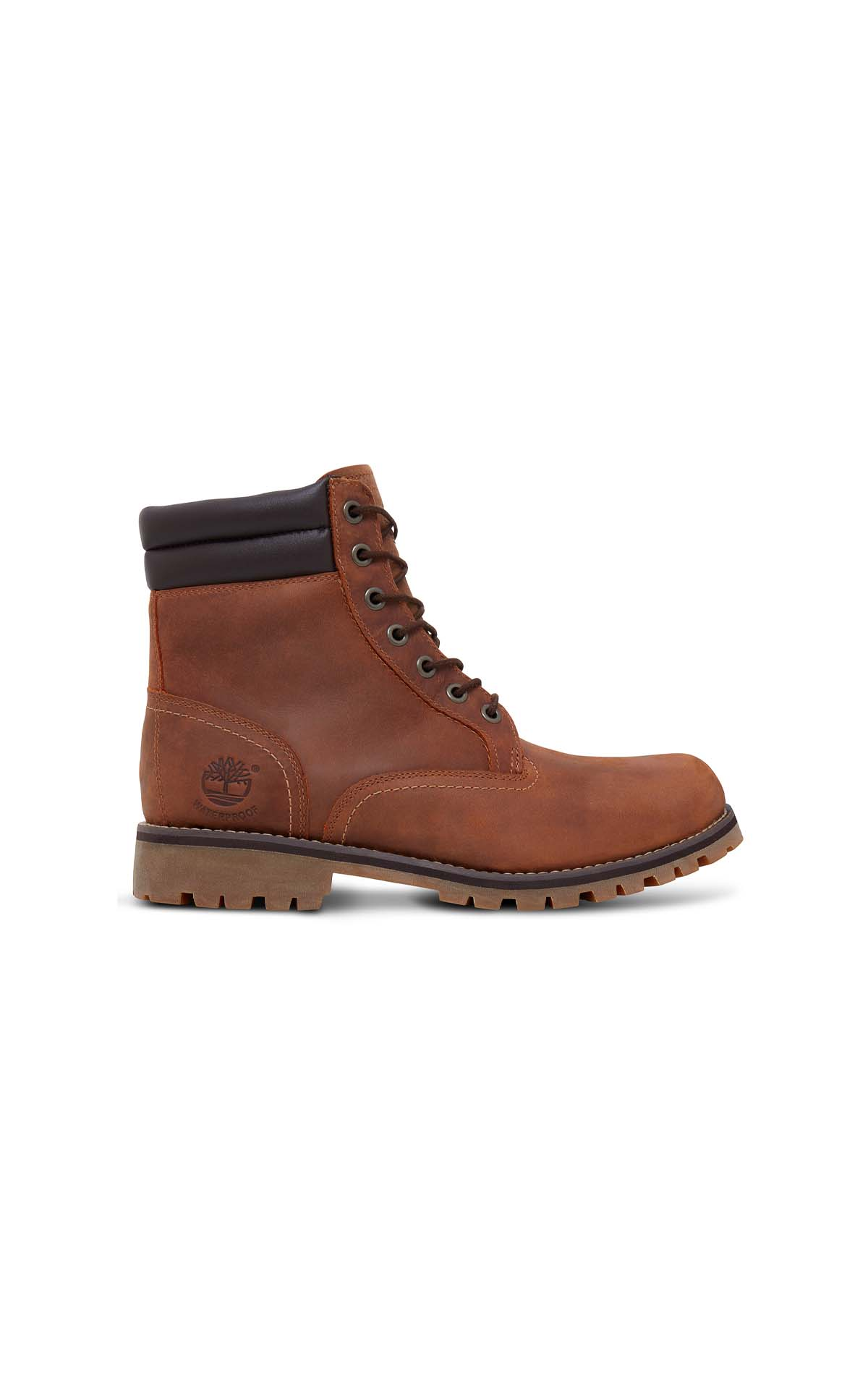Timberland Men's medium brown Foraker 6 In WP Boot