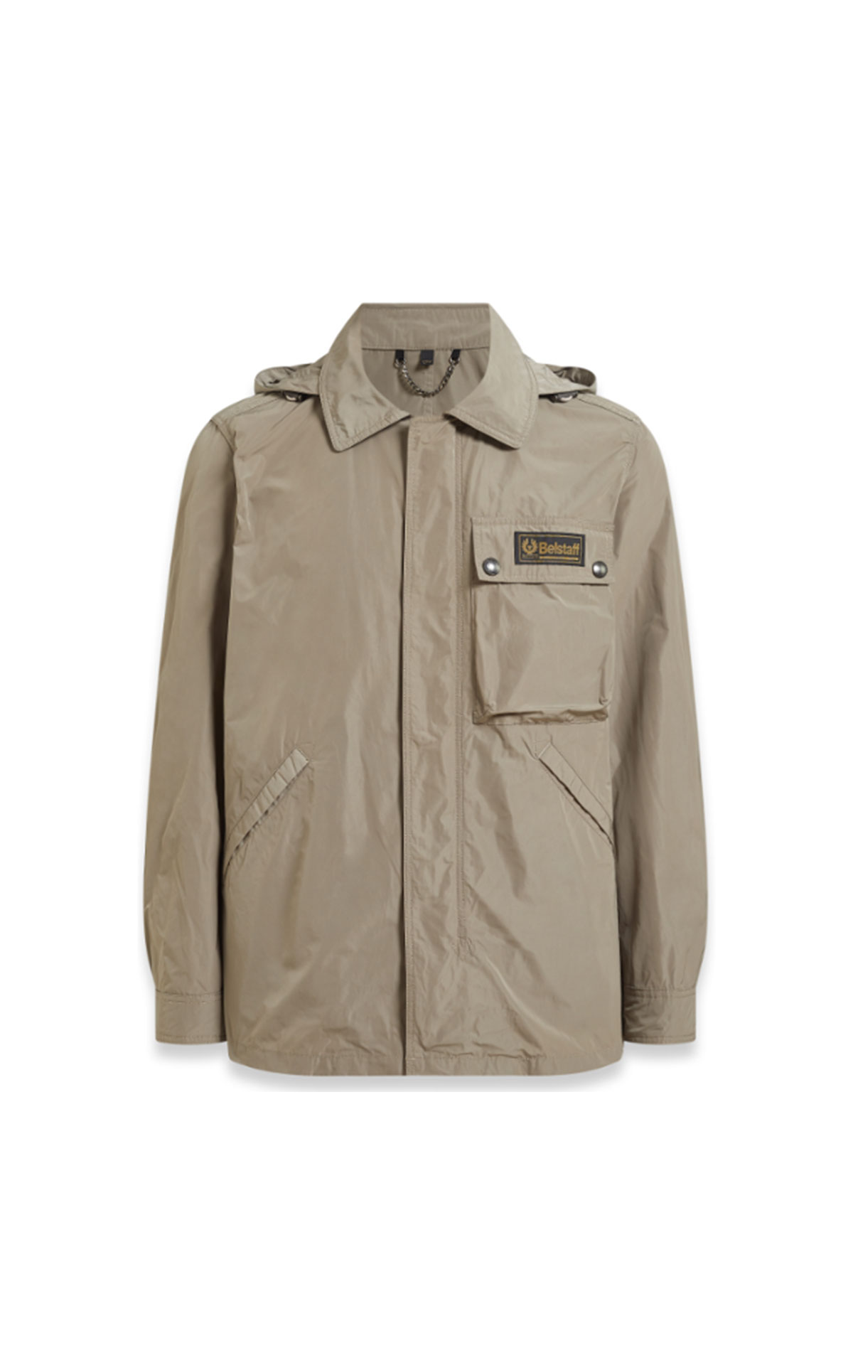 Belstaff Weekender jacket in taupe from Bicester Village