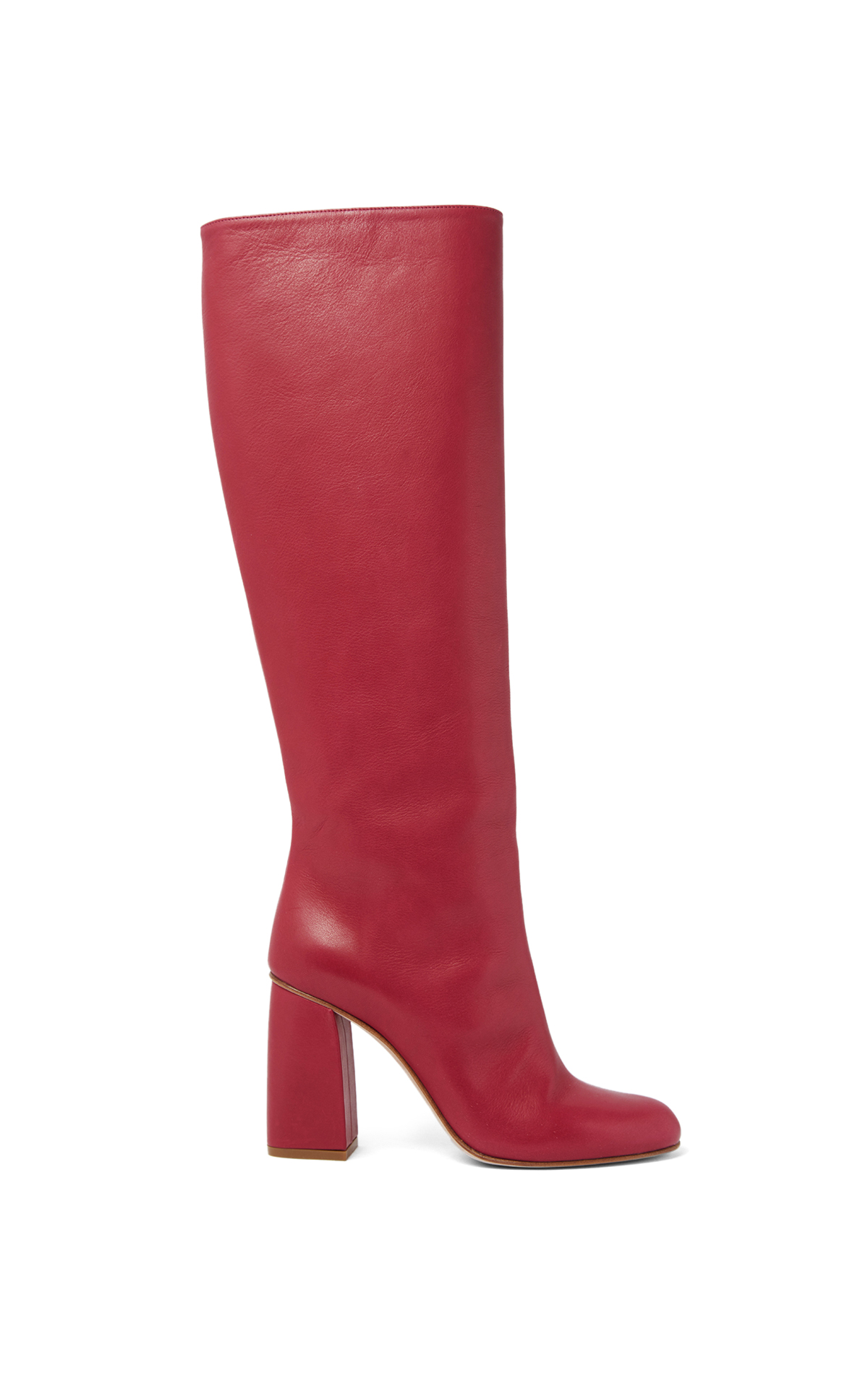 REDValentino Pink heeled boots