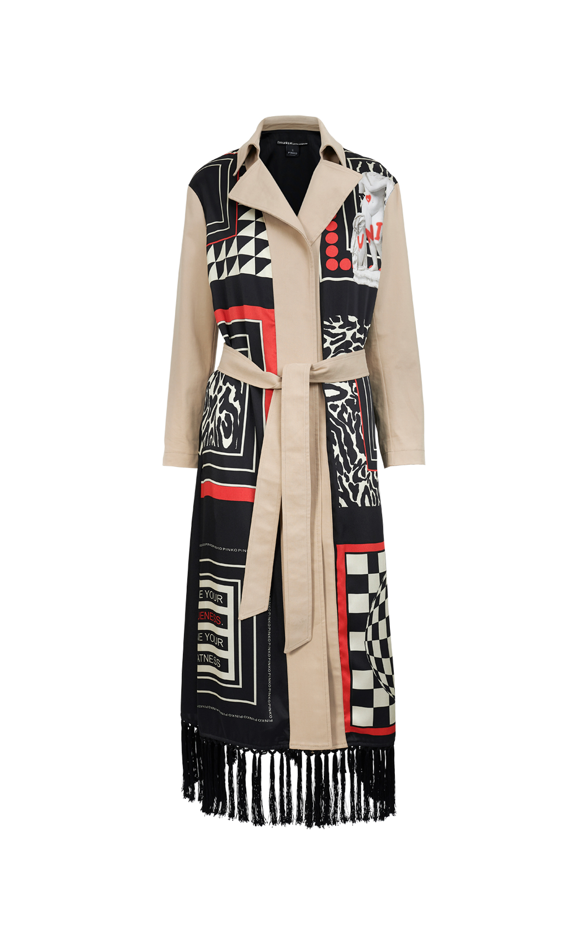 Printed trench Pinko