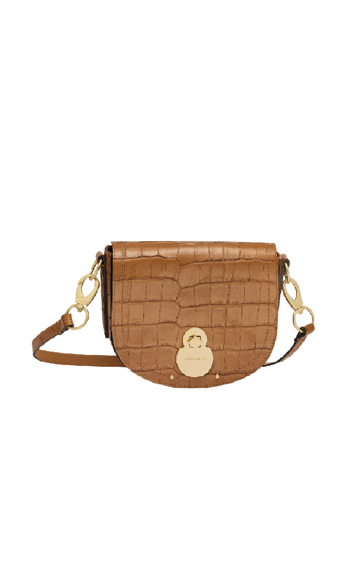 Camel coco bag Longchamp