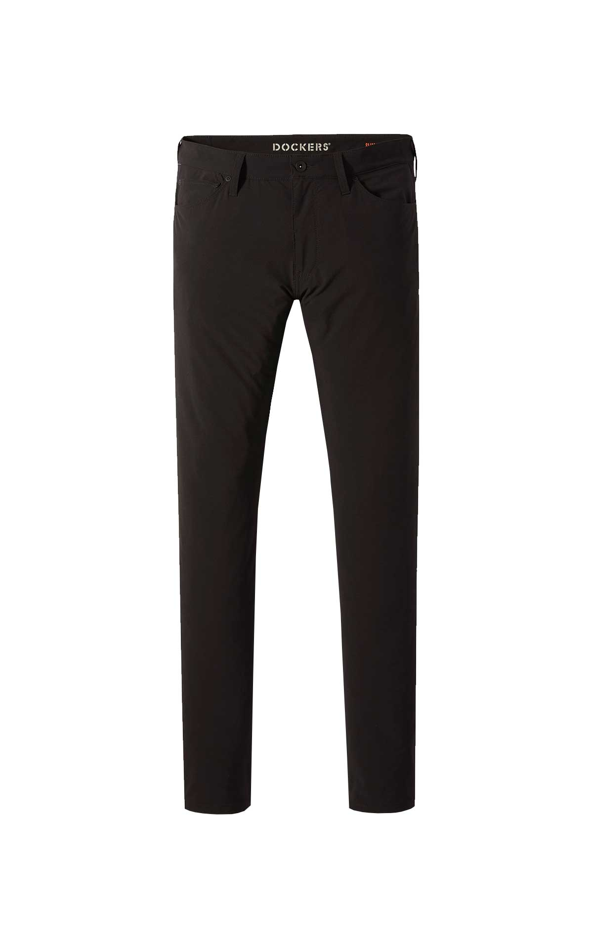 Black chino trousers for man Dockers