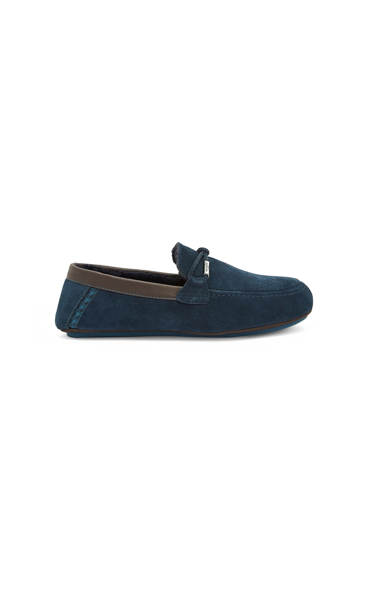 Ted Baker Suede Slippers at The Bicester Village Shopping Collection