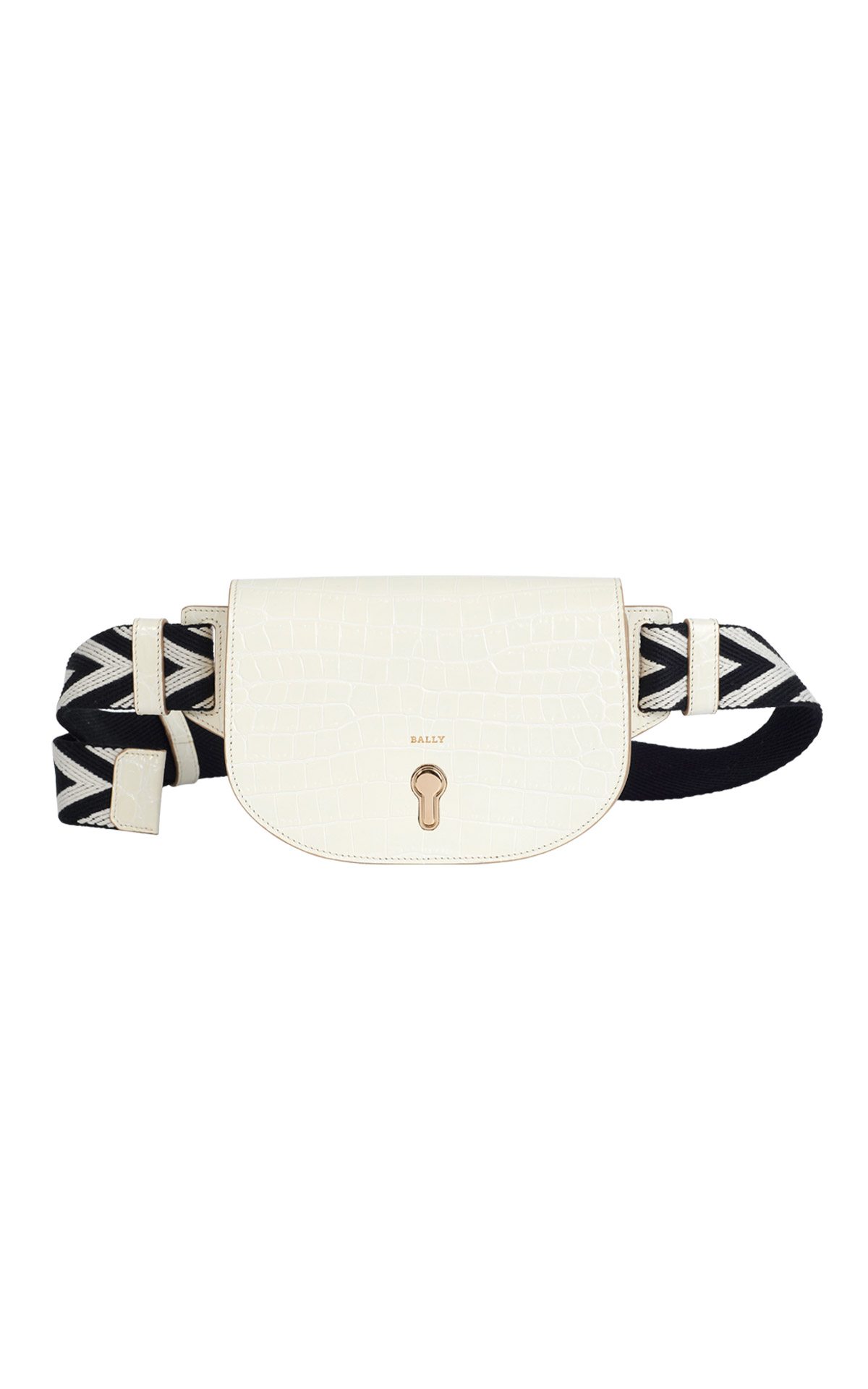 White bumbag for woman Bally