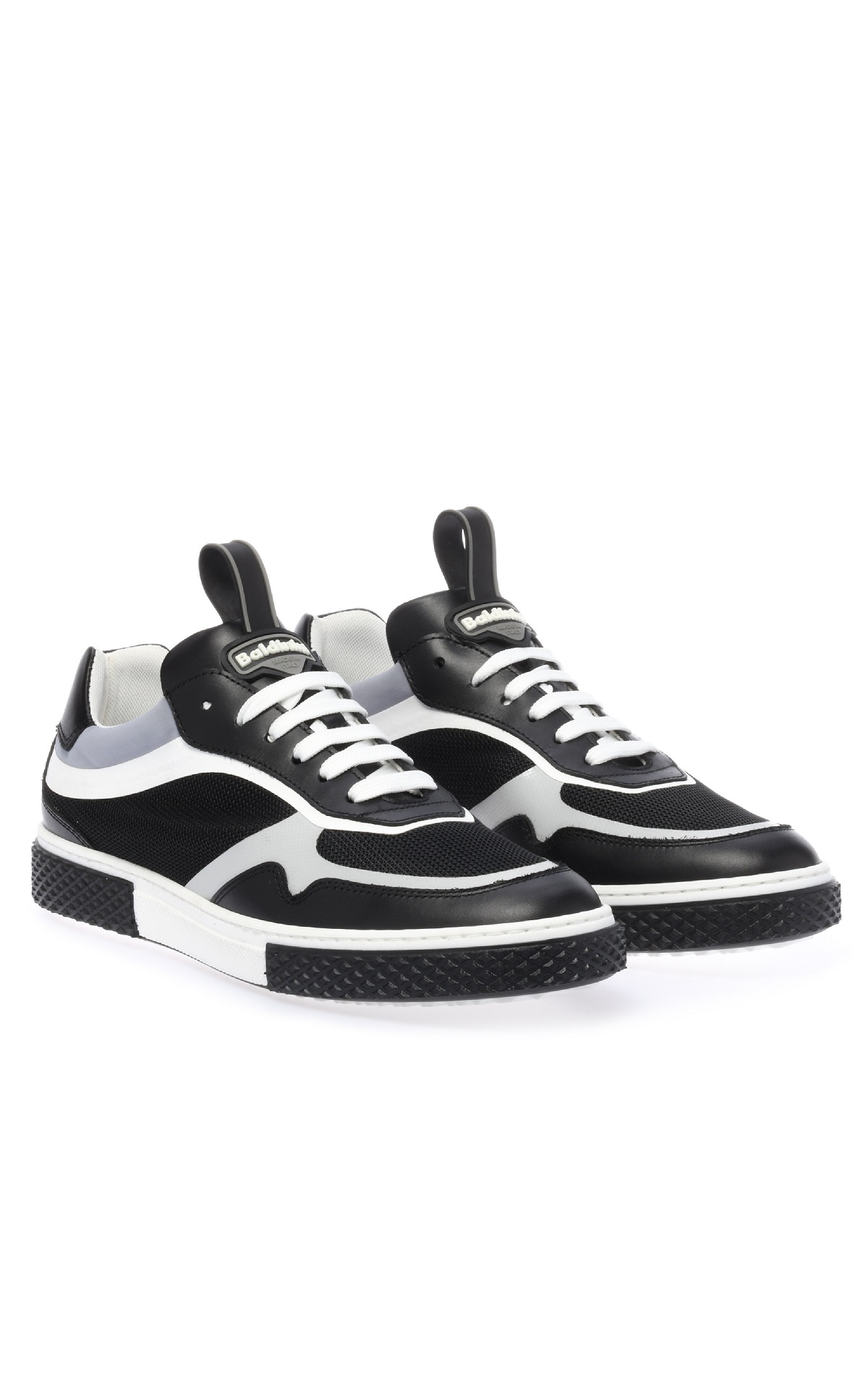 Black and grey sneakers for man Baldinini