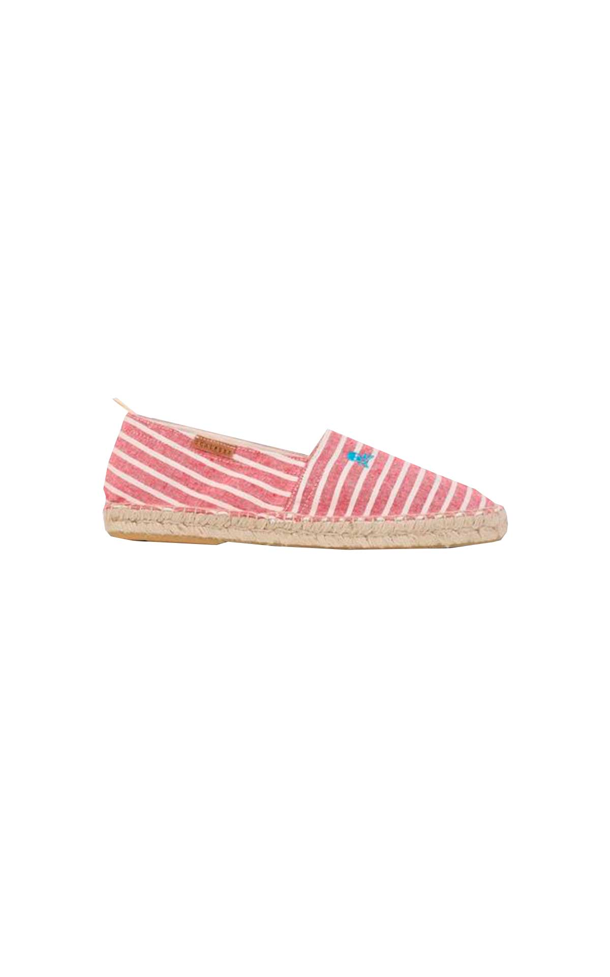 Red striped espadrilles Scalpers