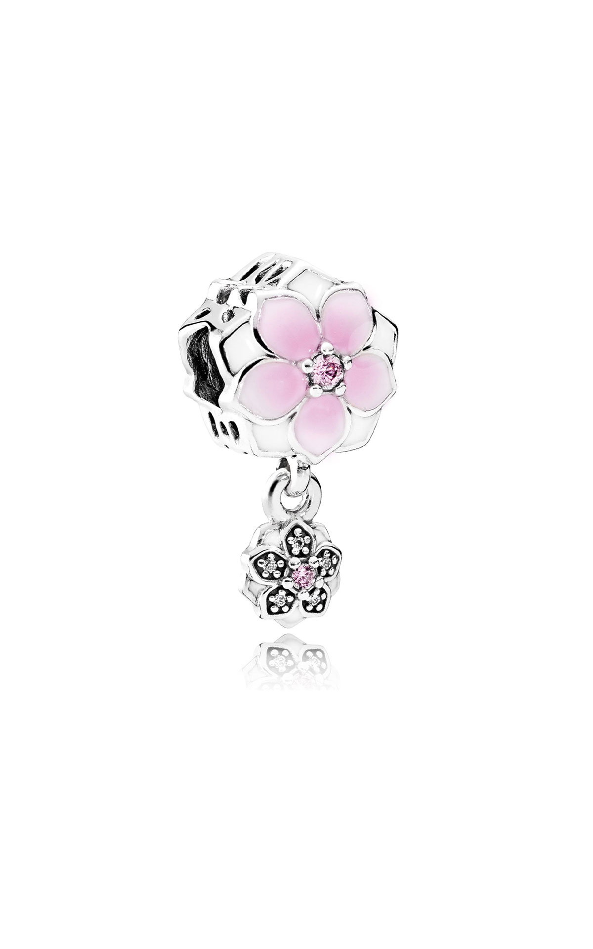 Pandora Magnolia bloom charm from Bicester Village