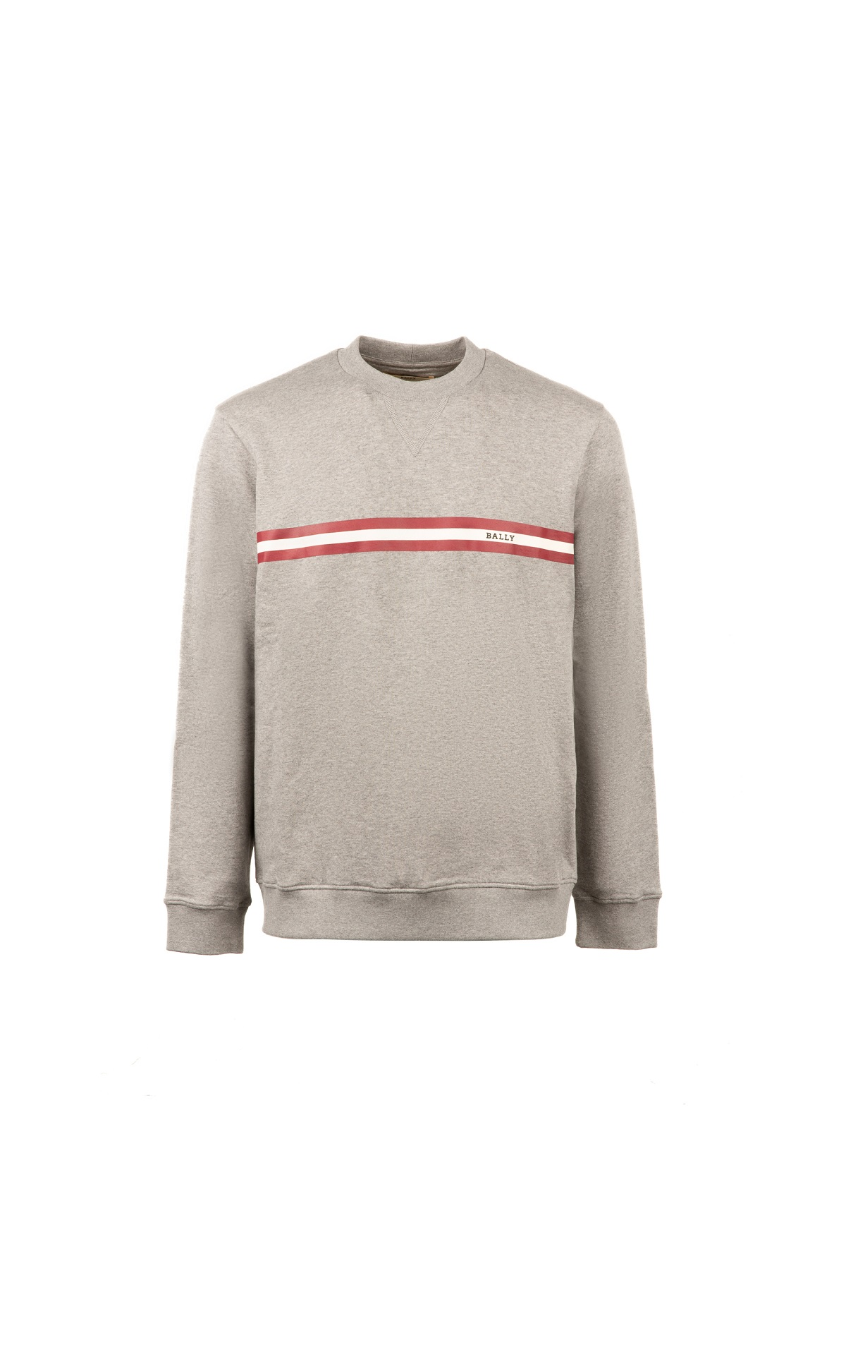 Grey cotton sweatshirt for man Bally