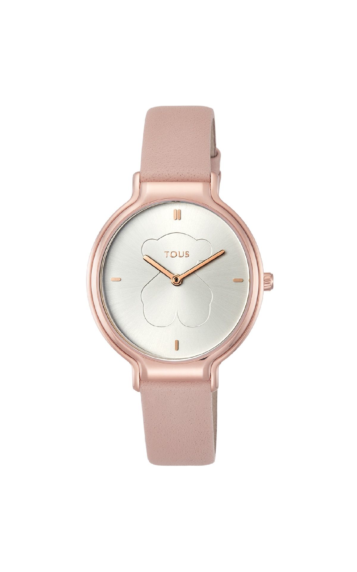 Pink leather watch Tous