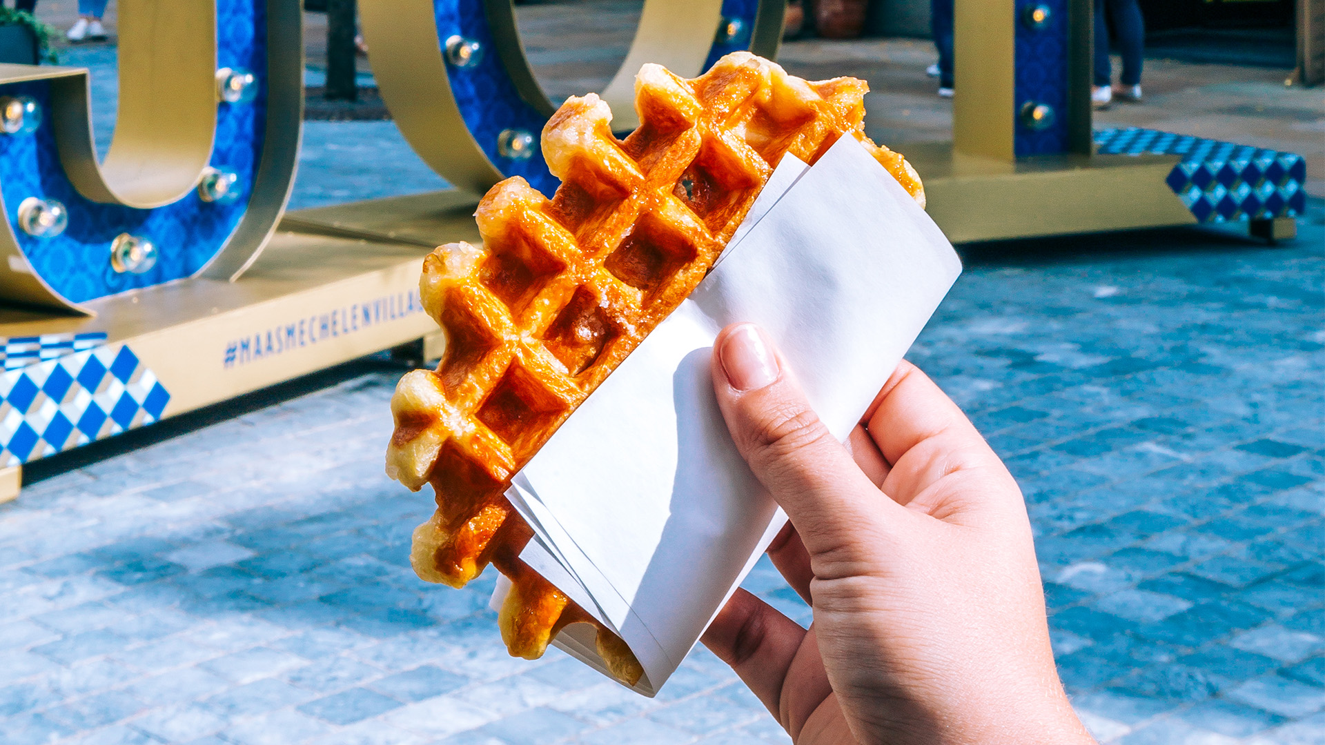 Waffles at Maasmechelen Village