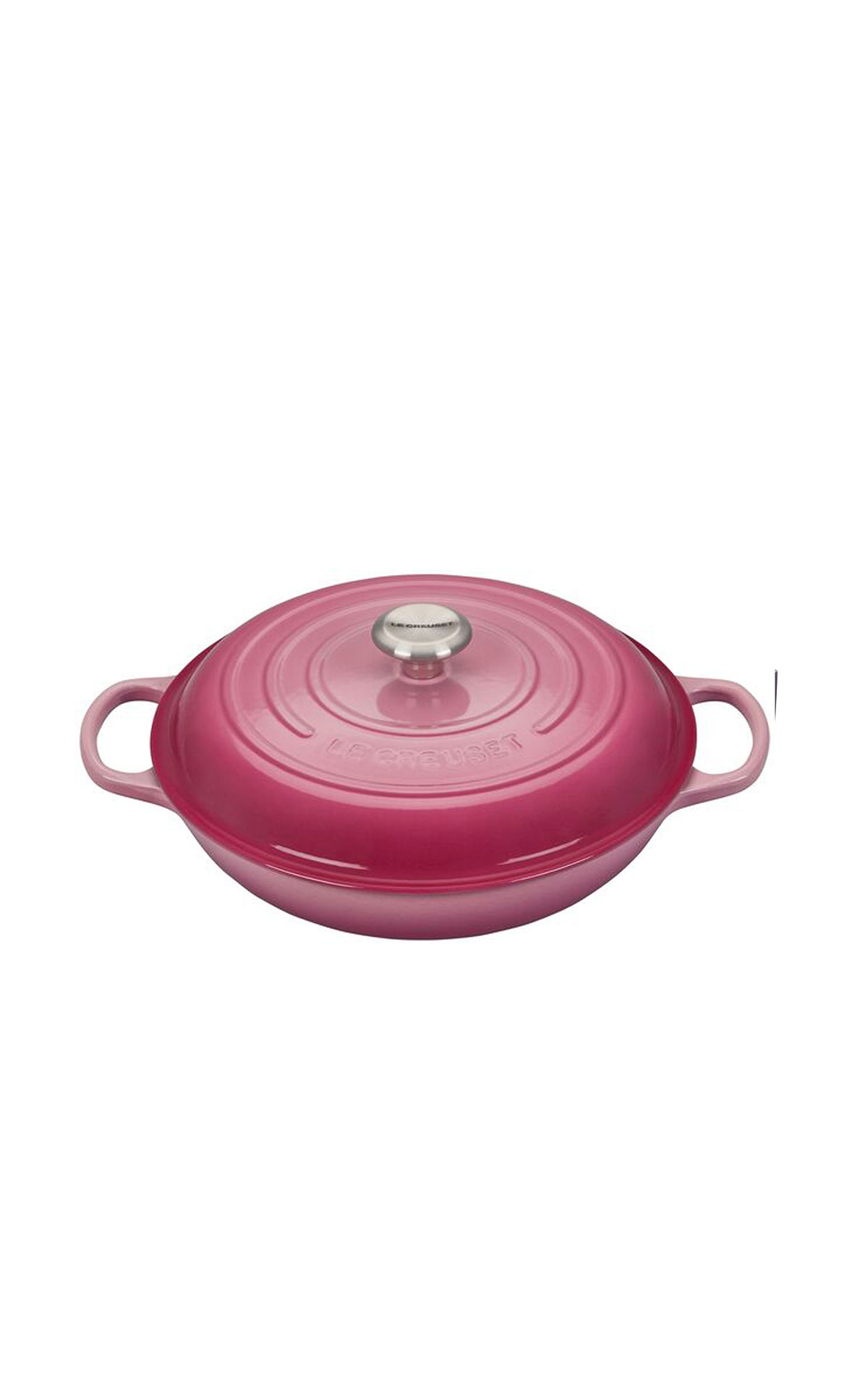 Le Creuset Berry 30cm shallow casserole dish from Bicester Village