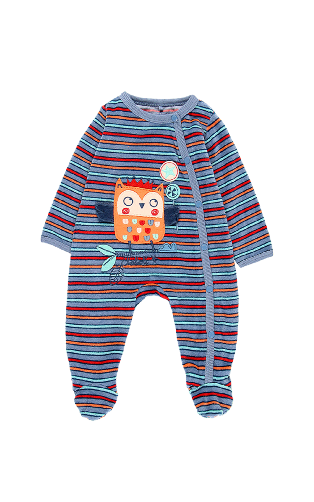 Blue striped body boboli