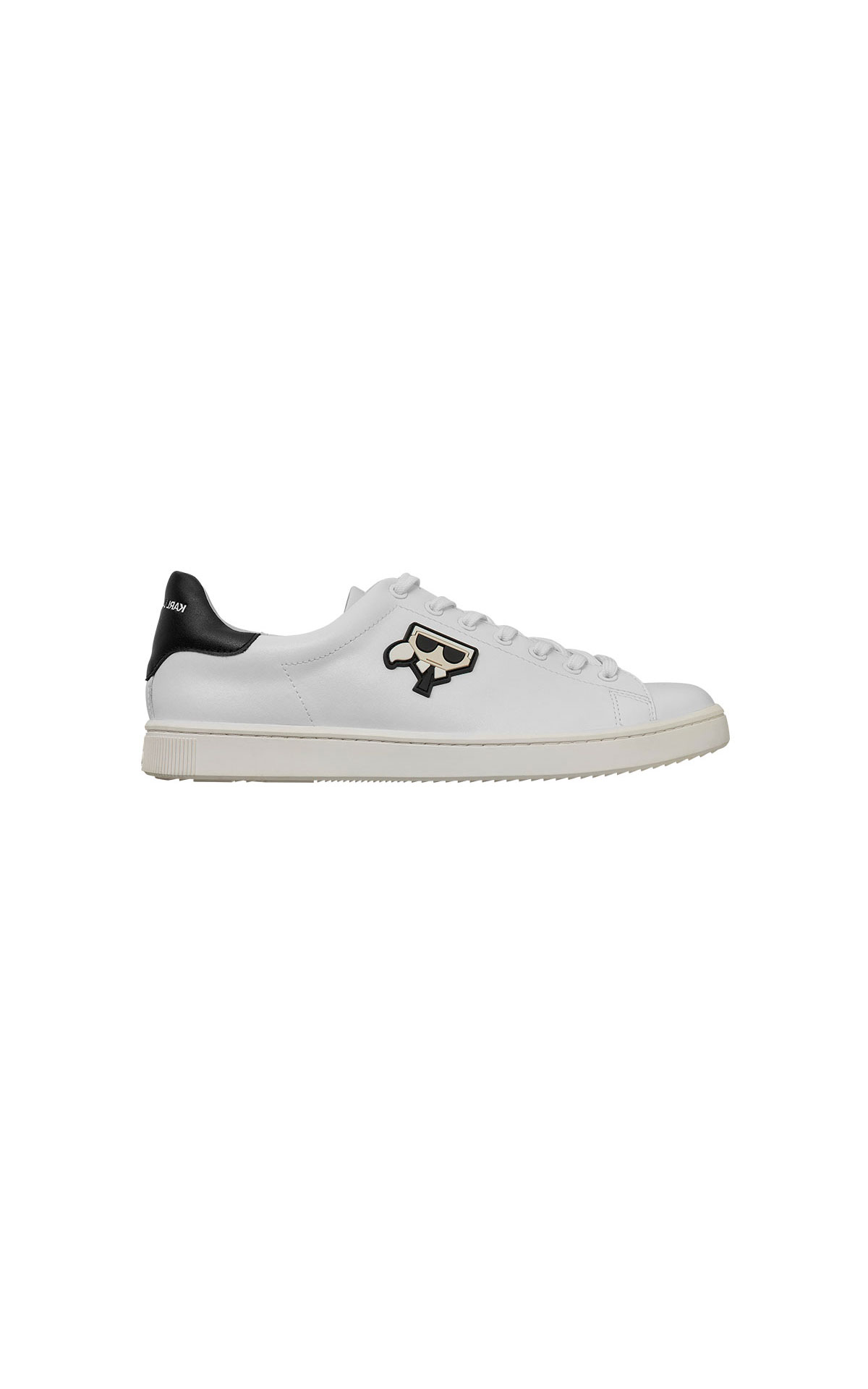 Karl Lagerfeld Kourt karl kocktail lace trainer from Bicester Village