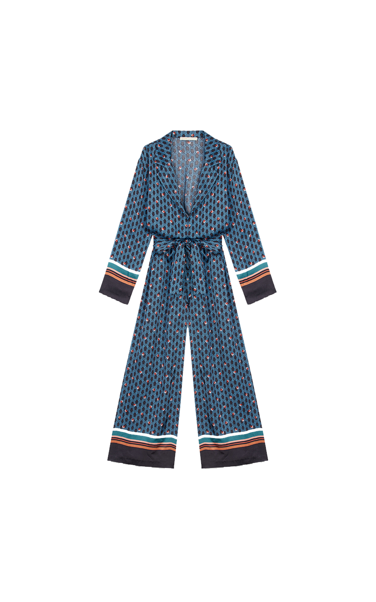 Maje Monogram printed trouser suit at The Bicester Village Shopping Collection