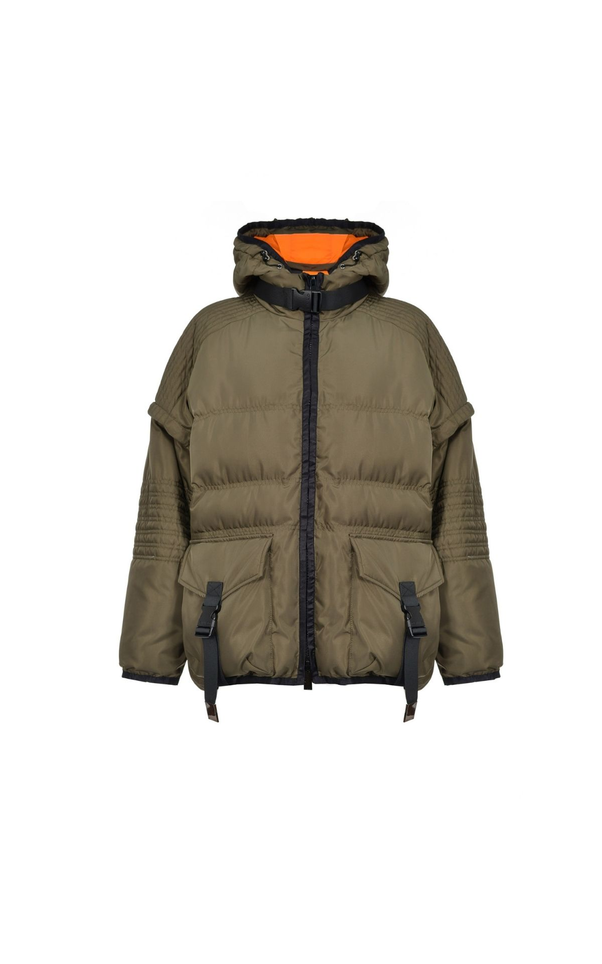 pinko puffy quilted jacket la vallée village