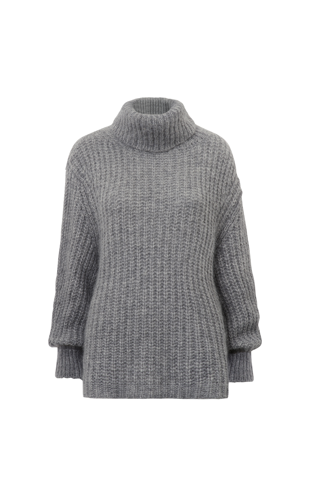 Grey turtle neck sweater ba&sh