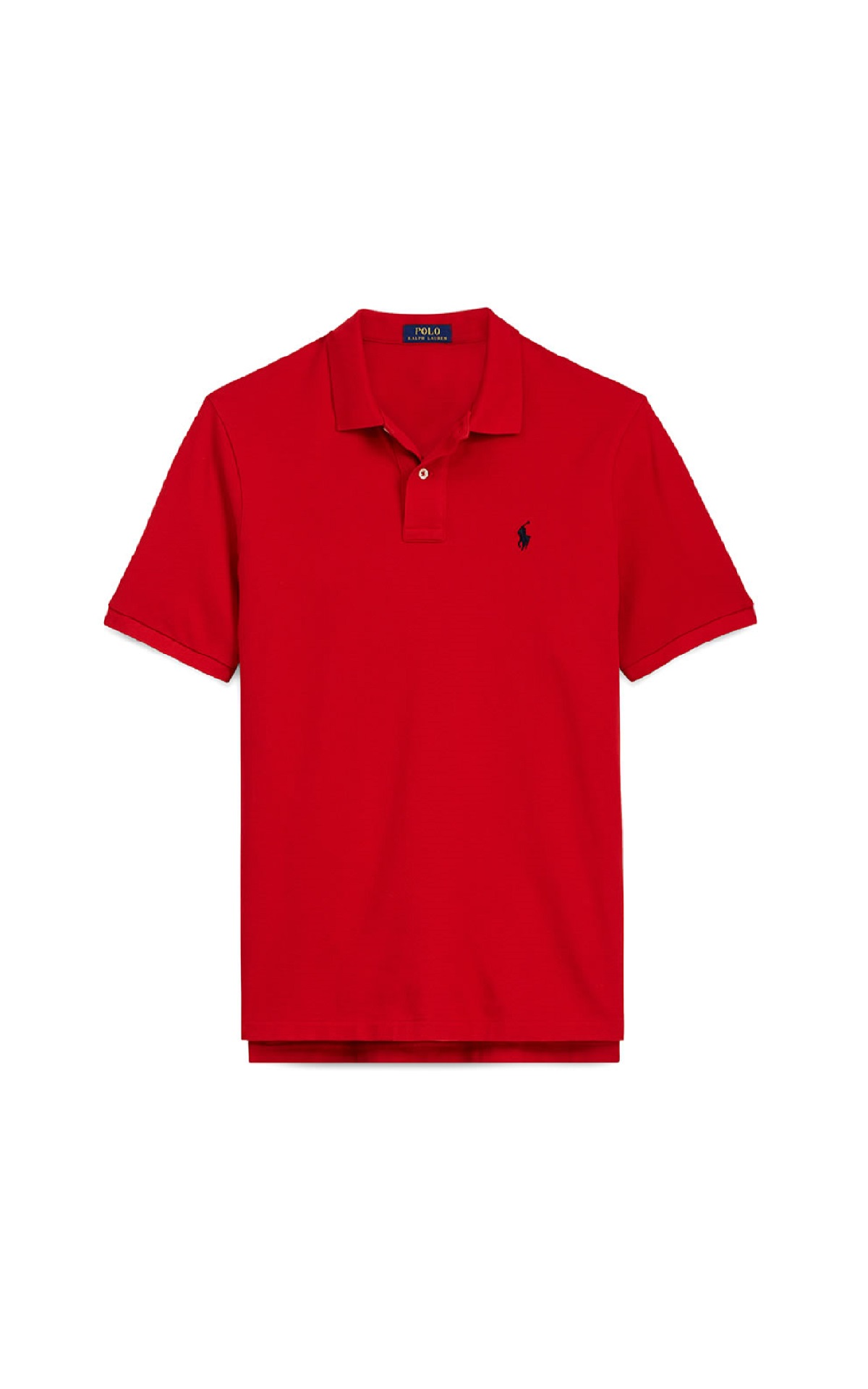Red polo shirt man Polo Ralph Lauren