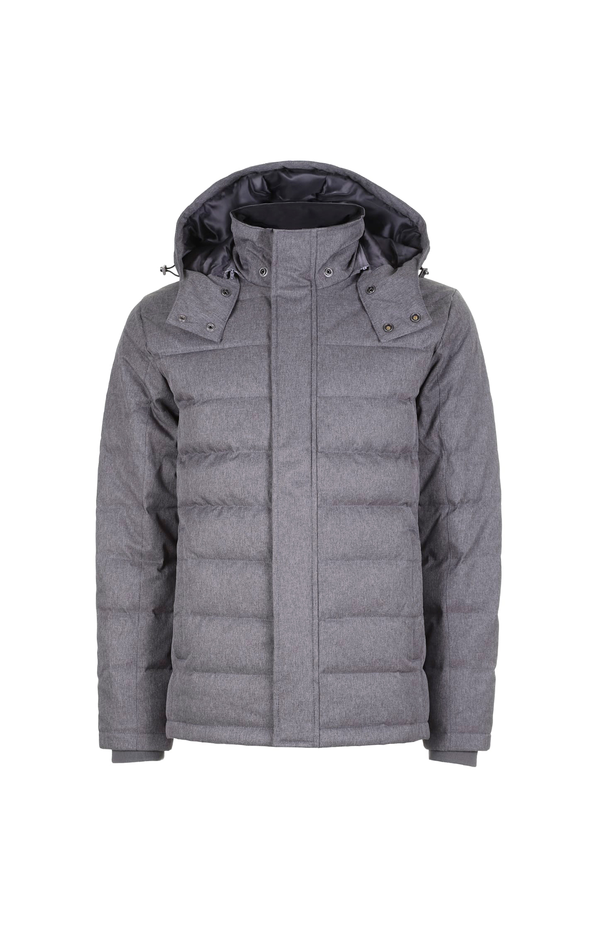 Grey puffer jacket Brooks Brothers