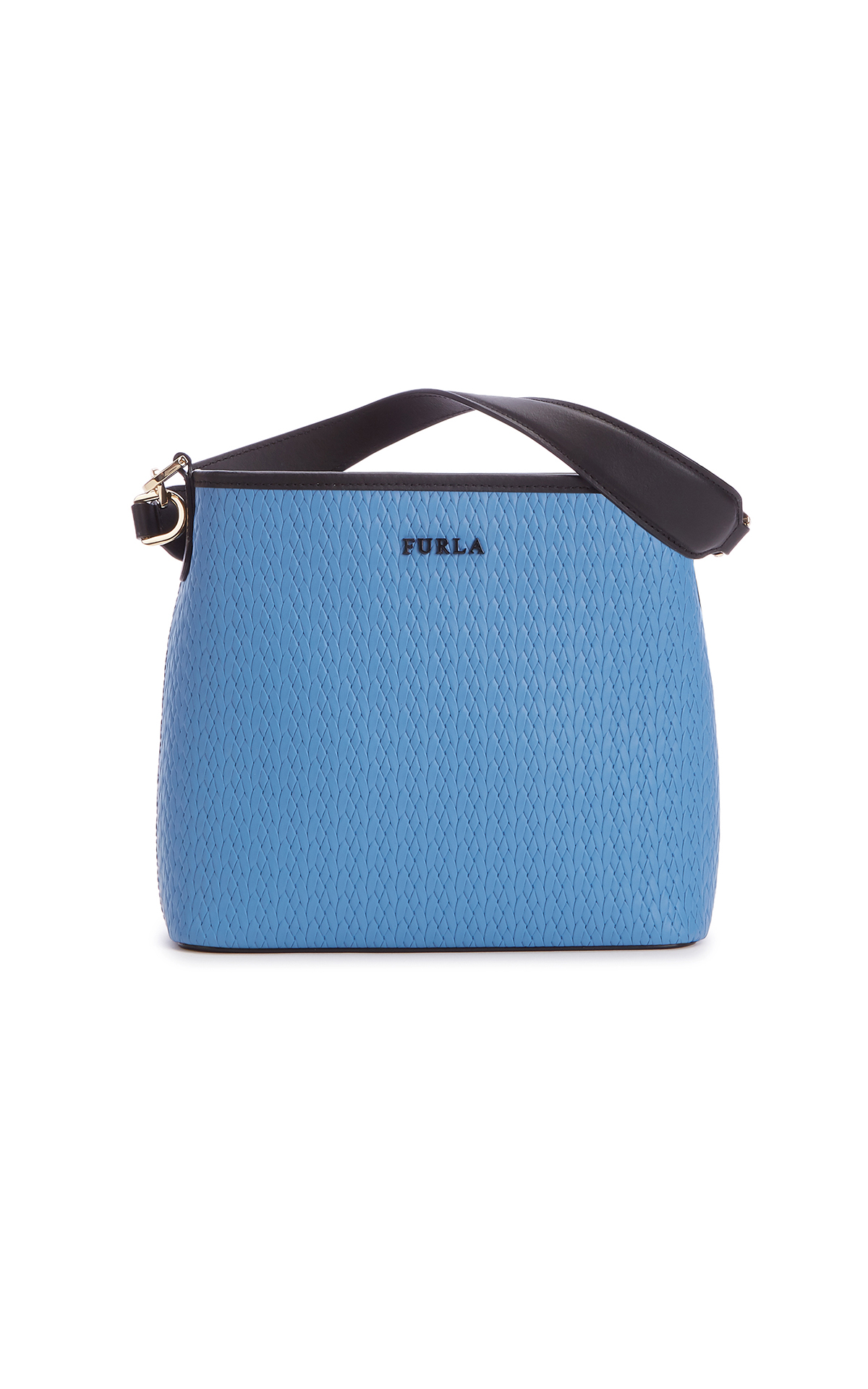 Furla Penny small Bucket Bag in blue