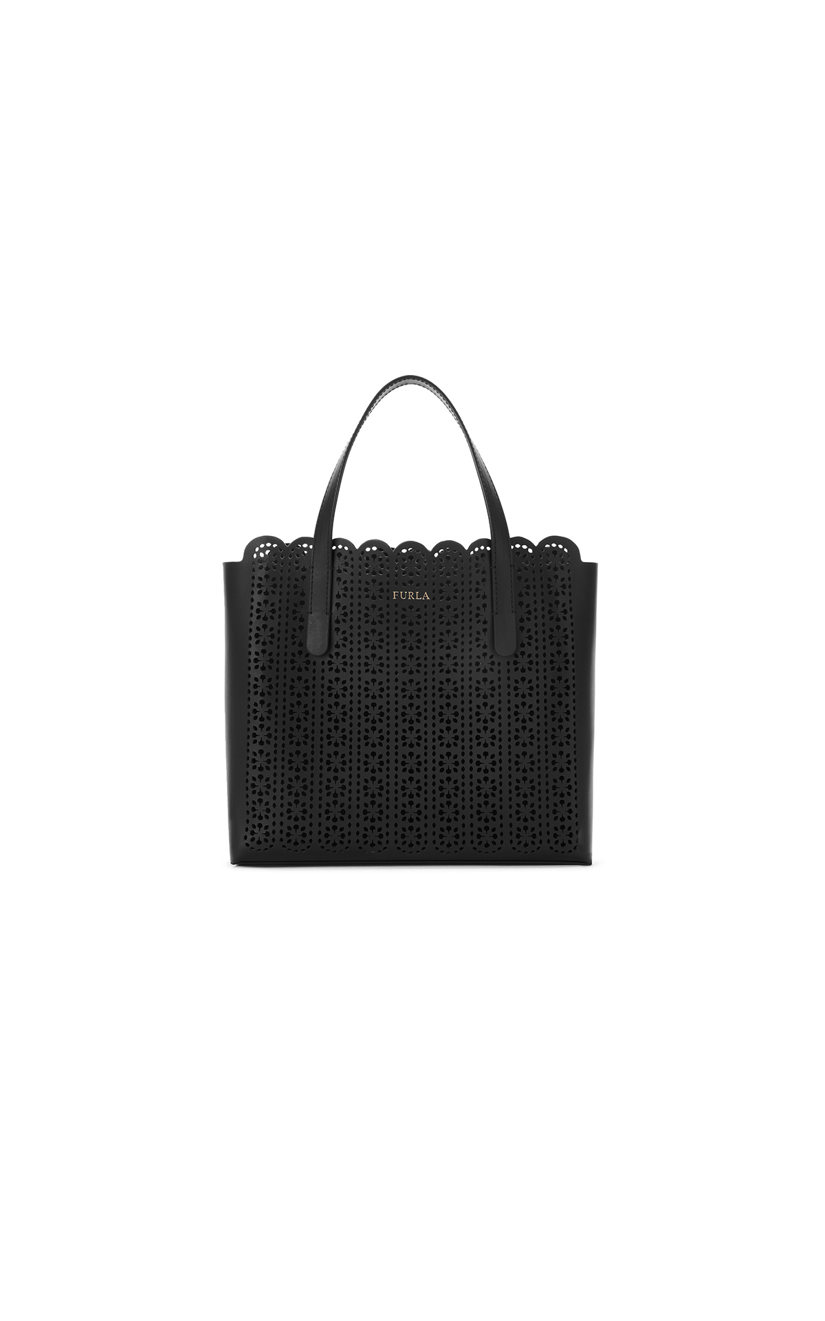 Furla Sally S Tote in black at The Bicester Village Shopping Collection