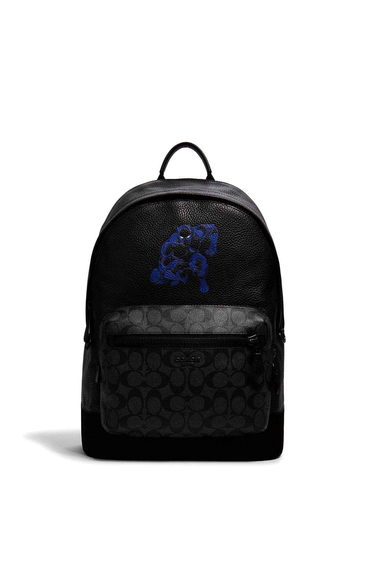 Coach West Backpack in Signature Black Panther Motif at The Bicester Village Shopping Collection