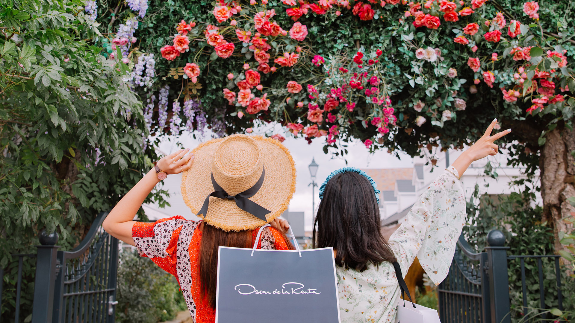 Bicester Village shopping experience with friends January 2020