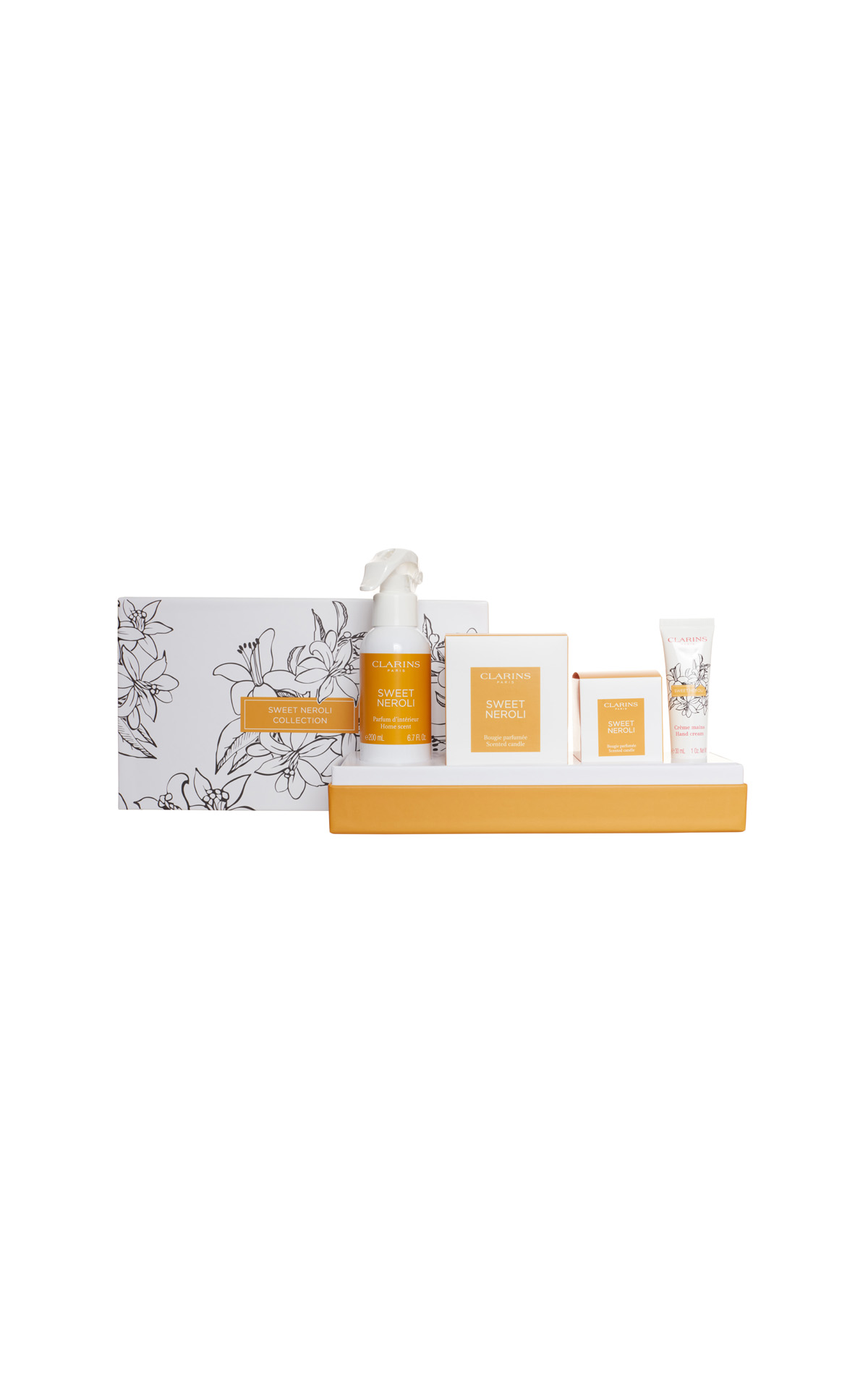 Clarins Home neroli collection from Bicester Village
