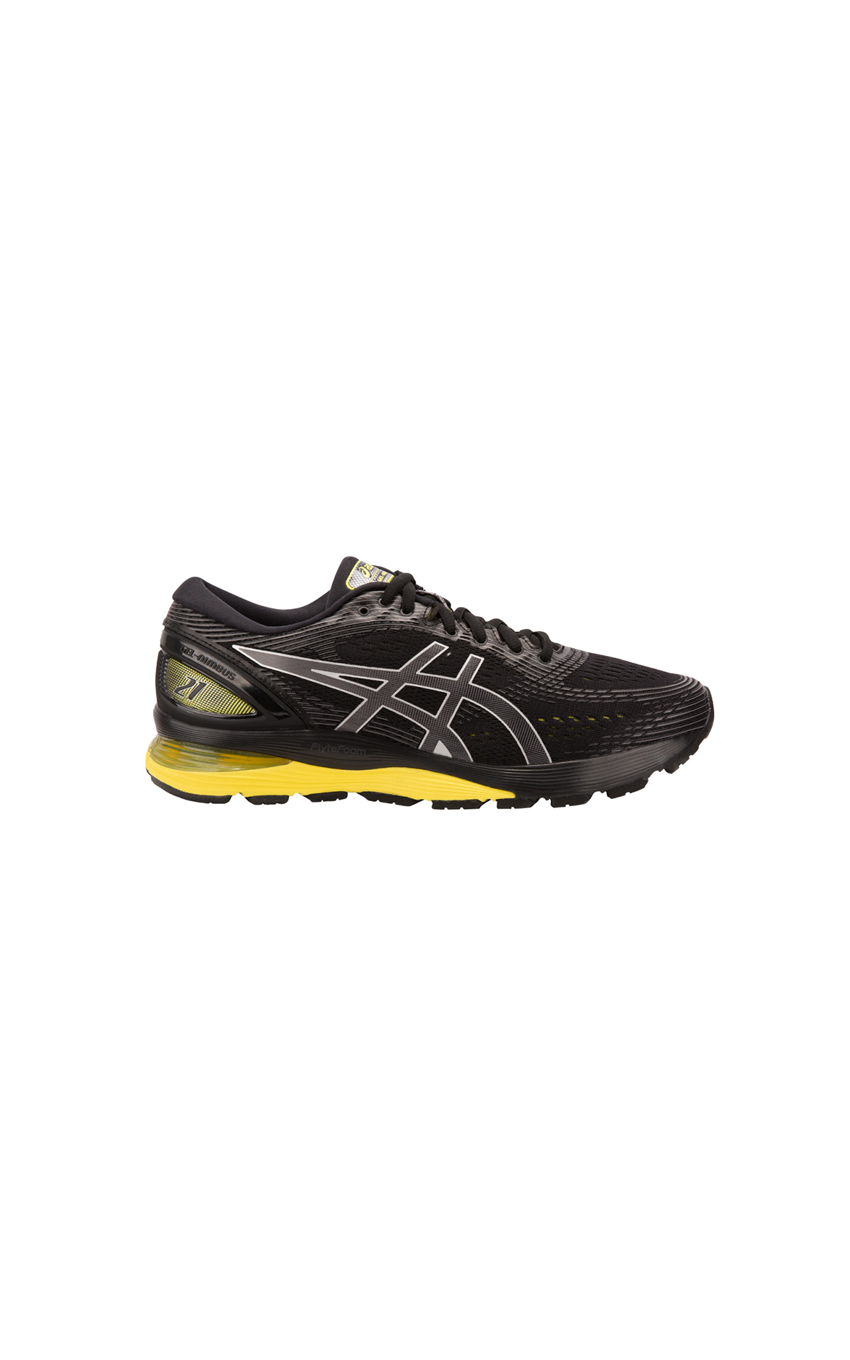 Black and yellow Gel-Nimbus 21 sneakers Asics for man