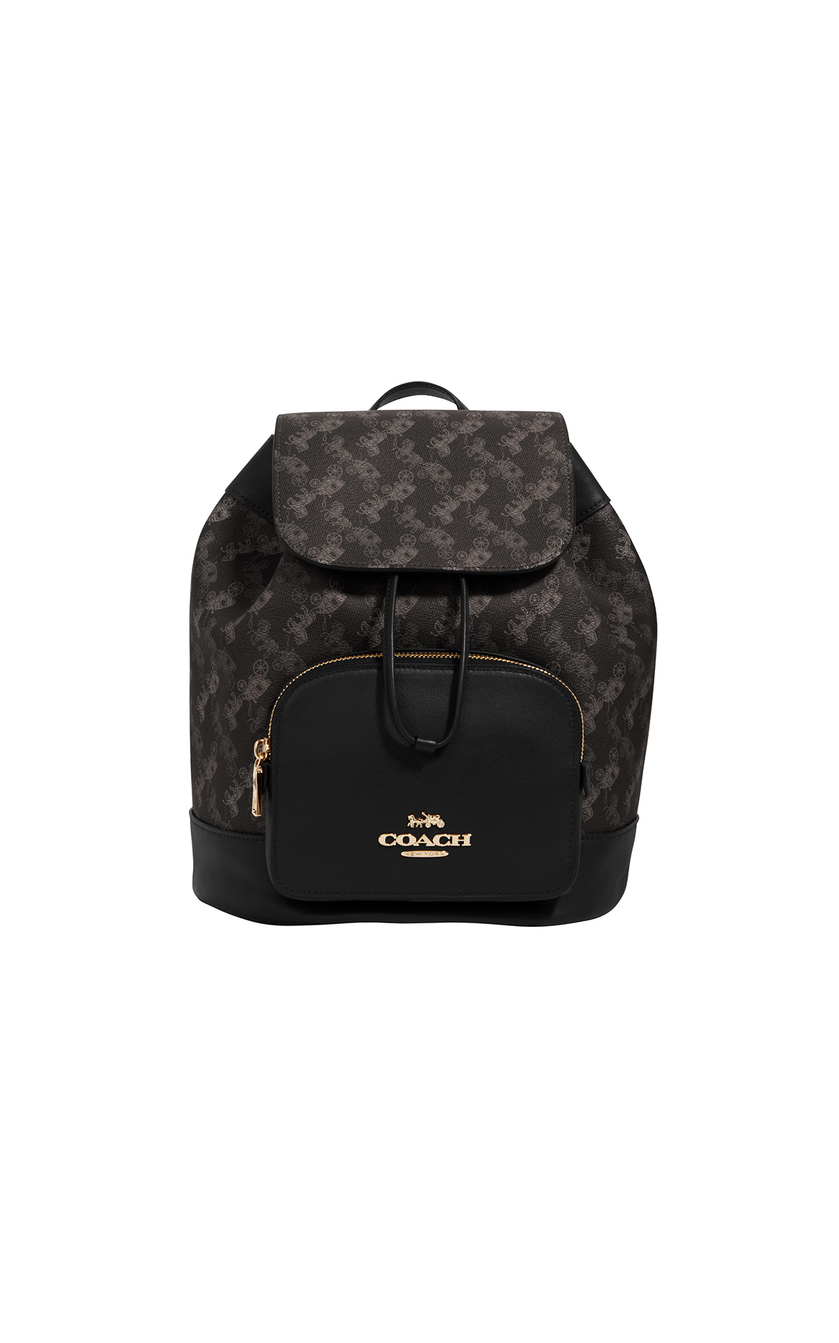 Coach Horse and Carriage Jes backpack in grey multi at The Bicester Village Shopping Collection