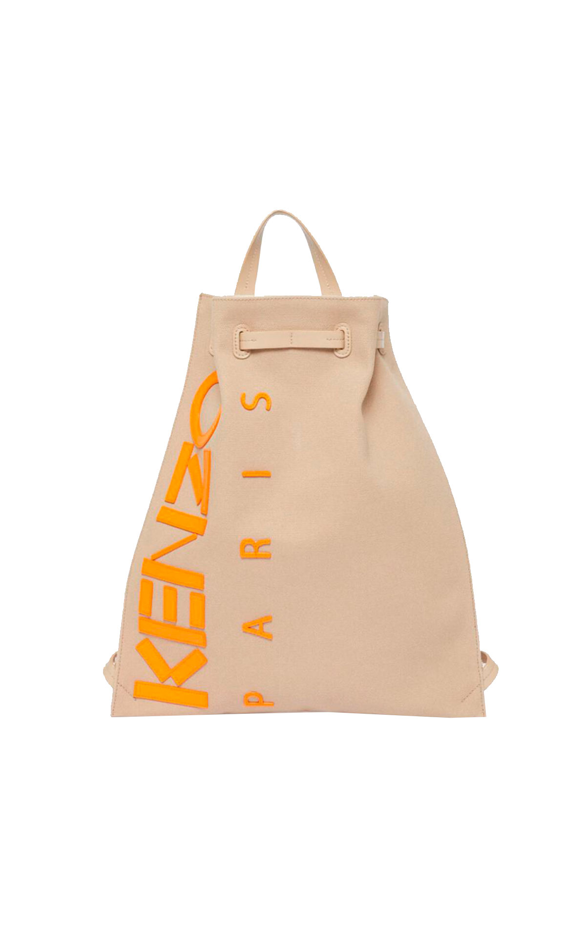 Beige backpack with logo Kenzo