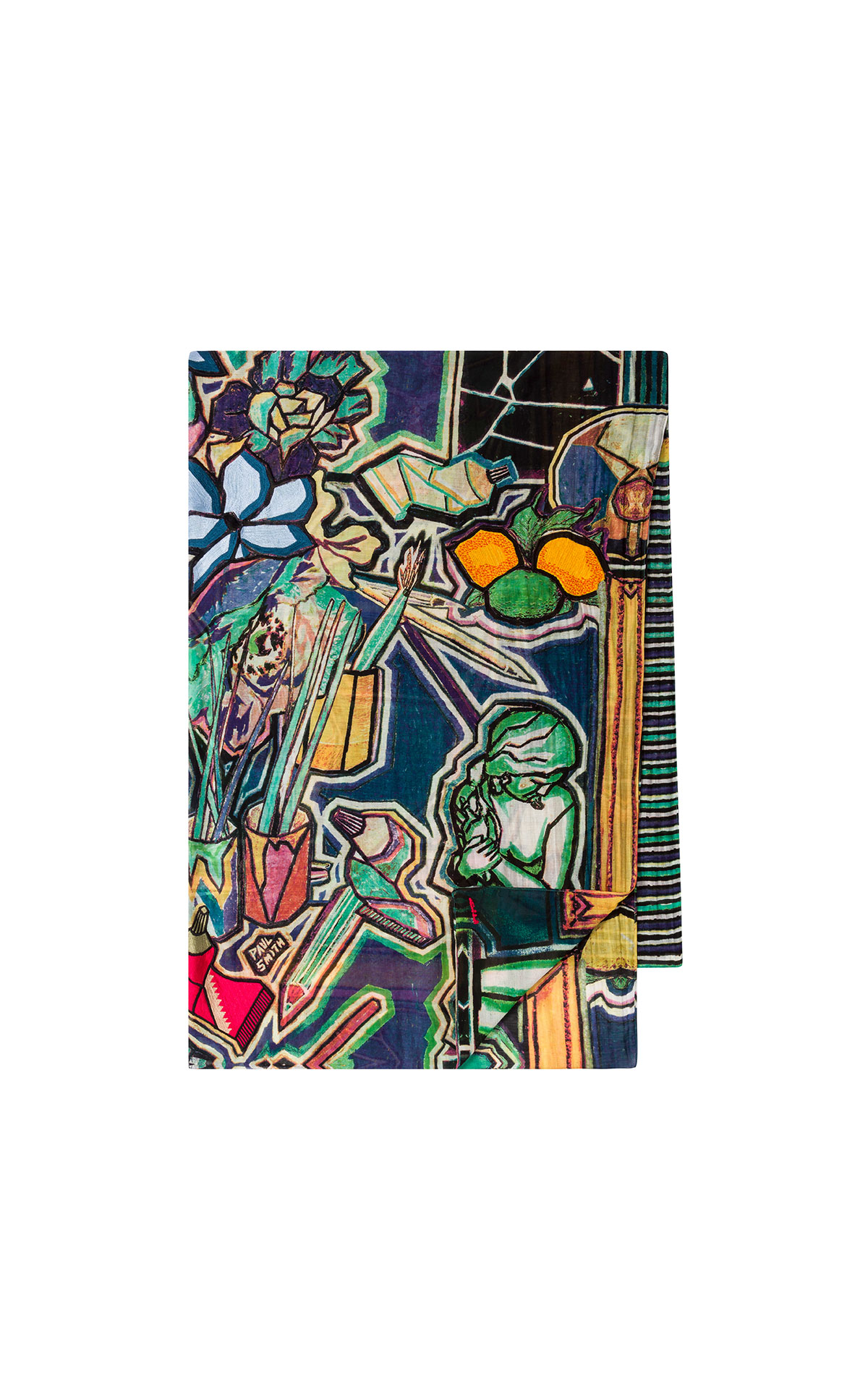 Paul Smith Women's Artist Studio Scarf at the Bicester Village Shopping Collection