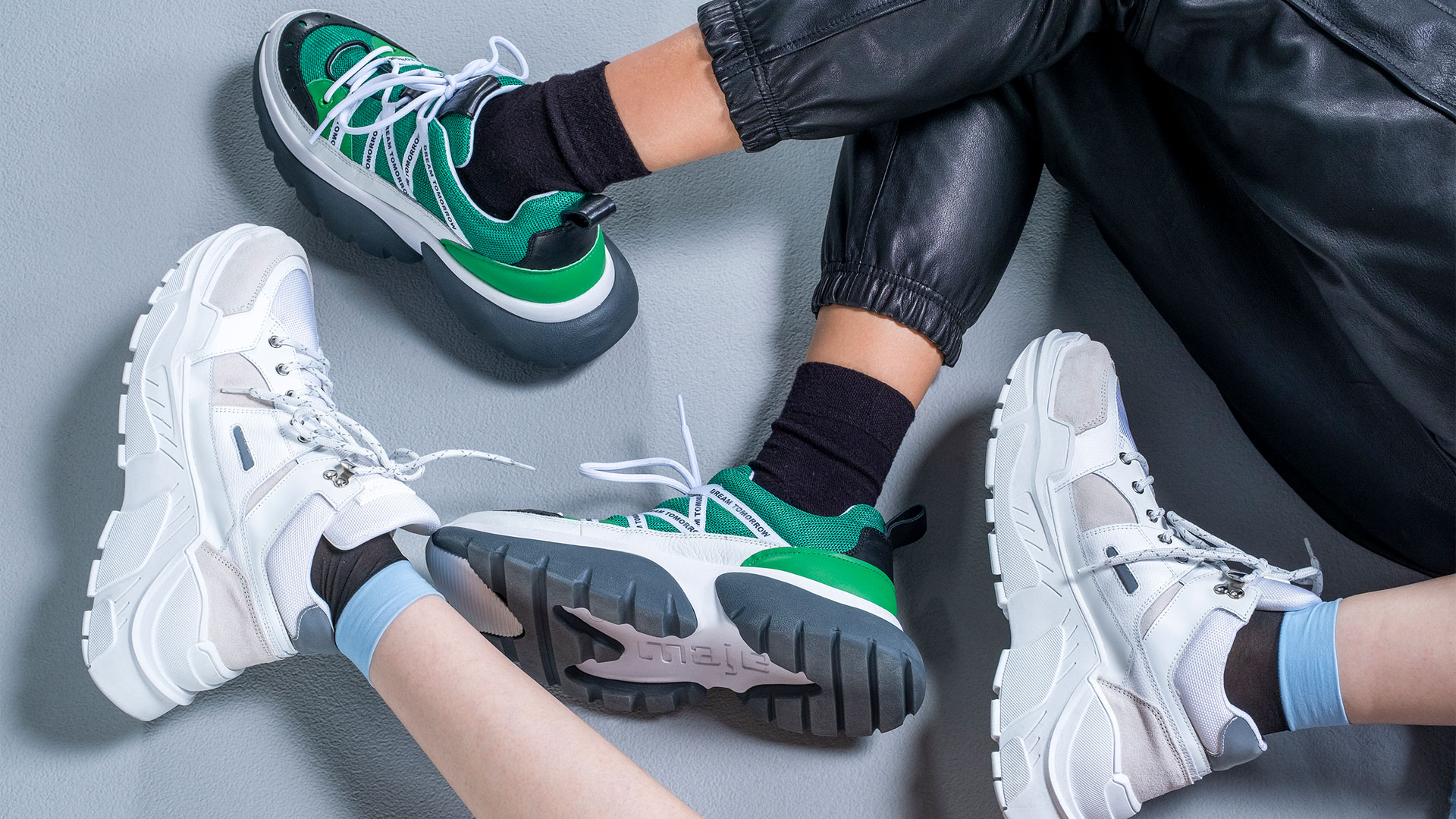 New Arrivals Trainers Editorial at Bicester Village