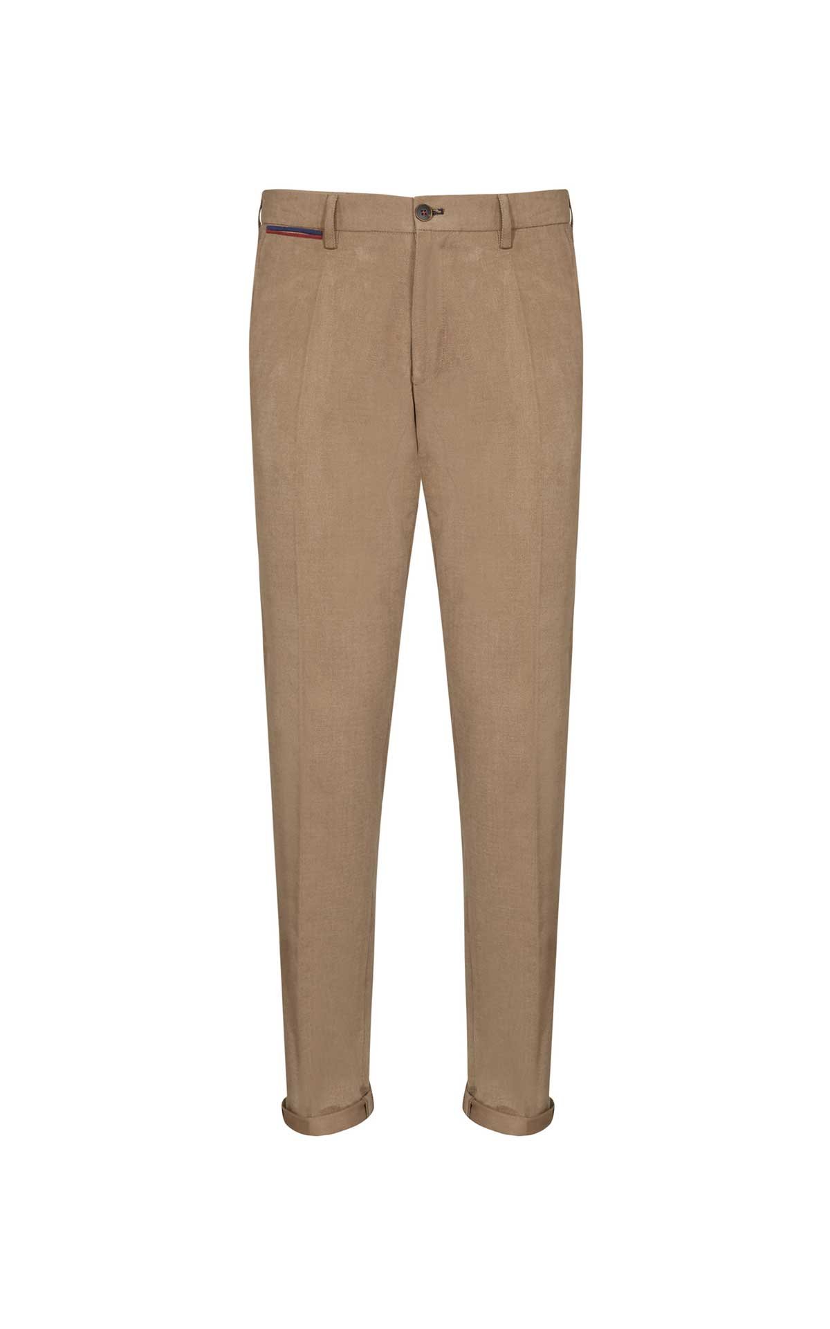 Camel trousers for men from El Ganso
