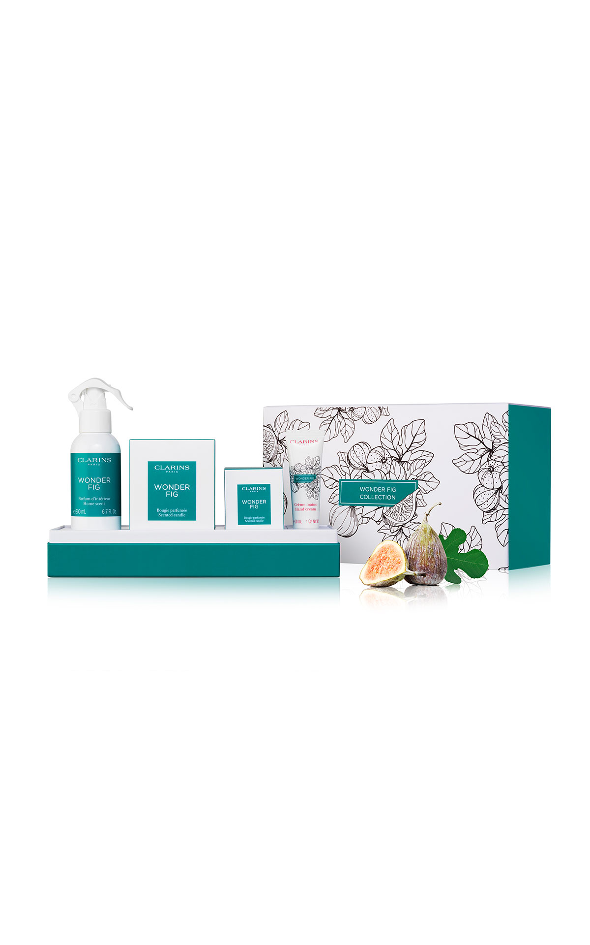 Clarins Wonder fig collection from Bicester Village